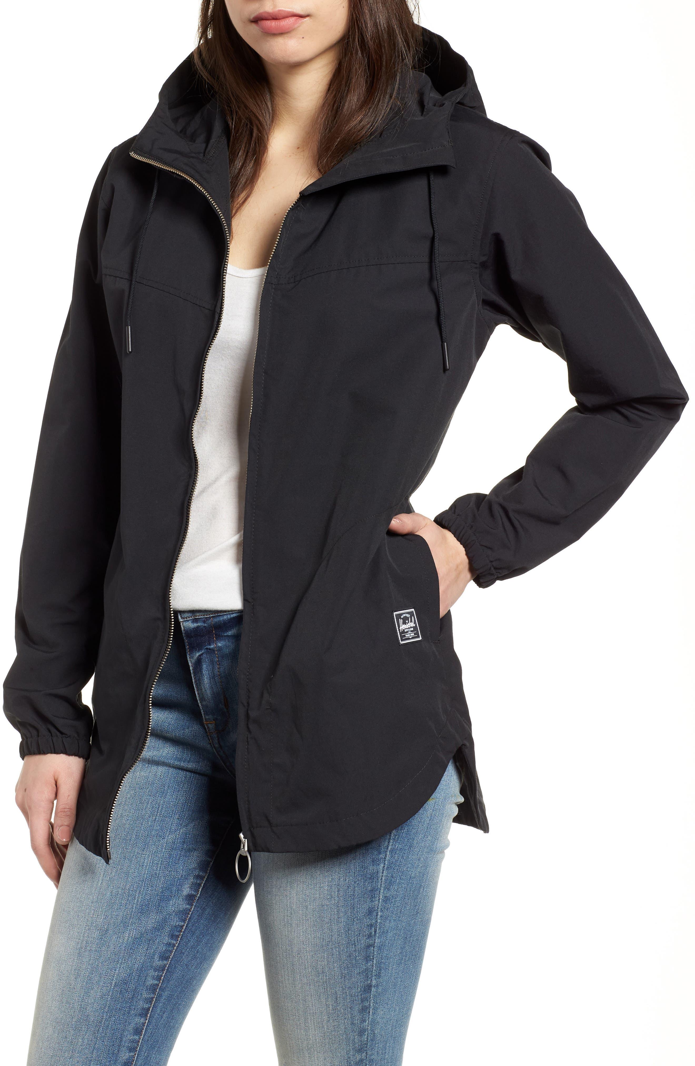Hooded Jacket,                             Main thumbnail 1, color,                             001