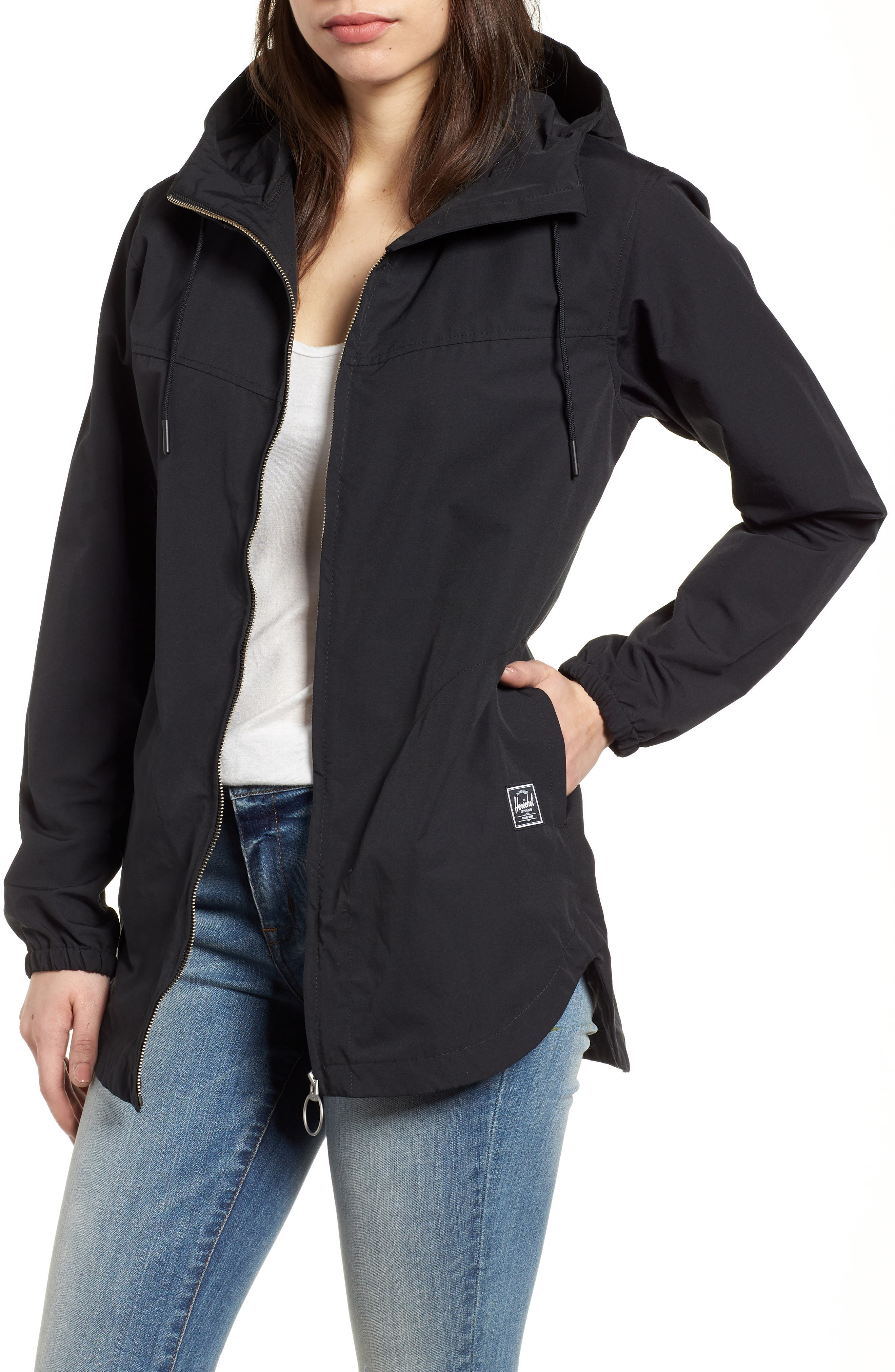 Hooded Jacket,                         Main,                         color, 001