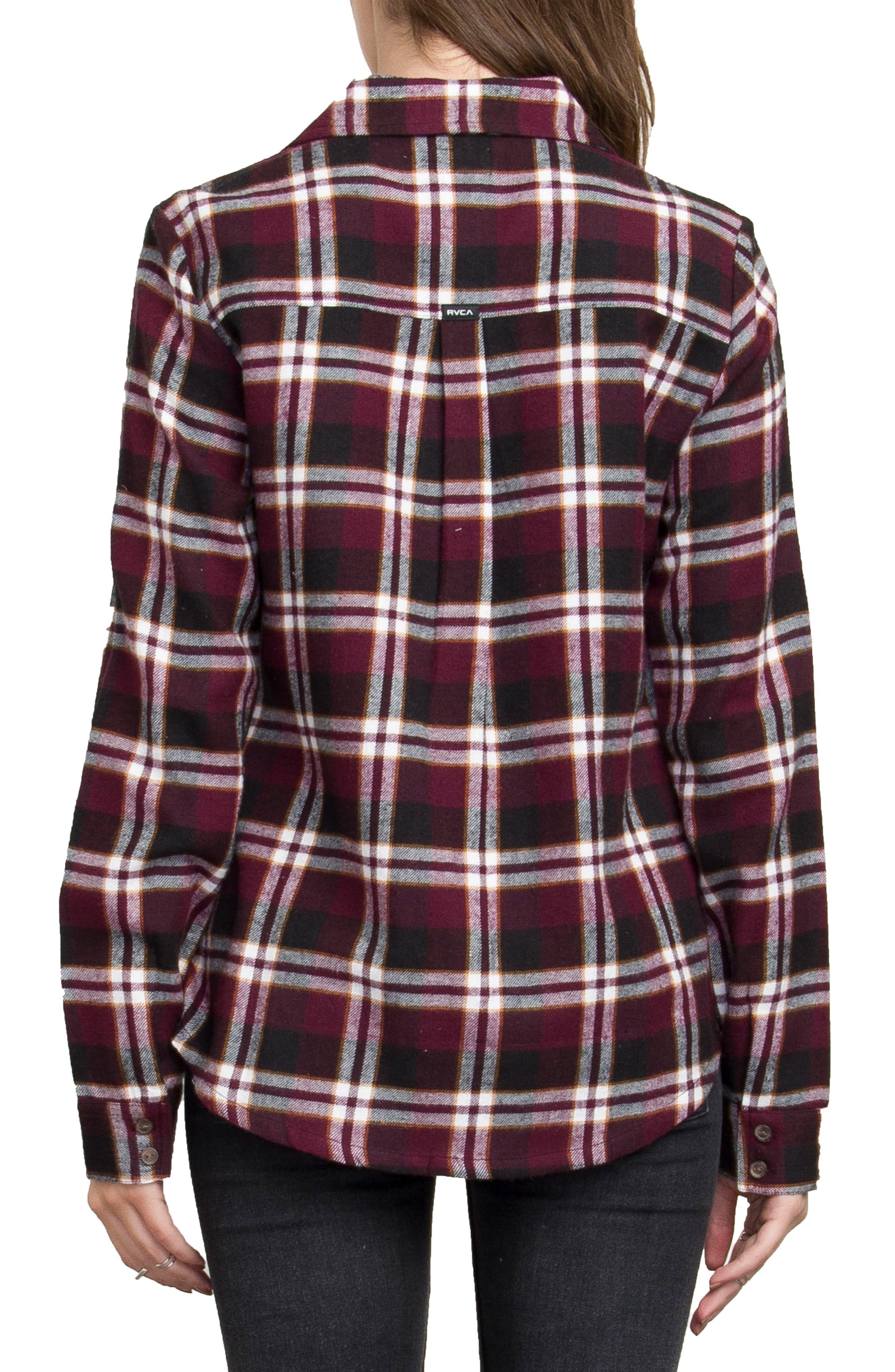 Plaid Flannel Shirt,                             Alternate thumbnail 14, color,