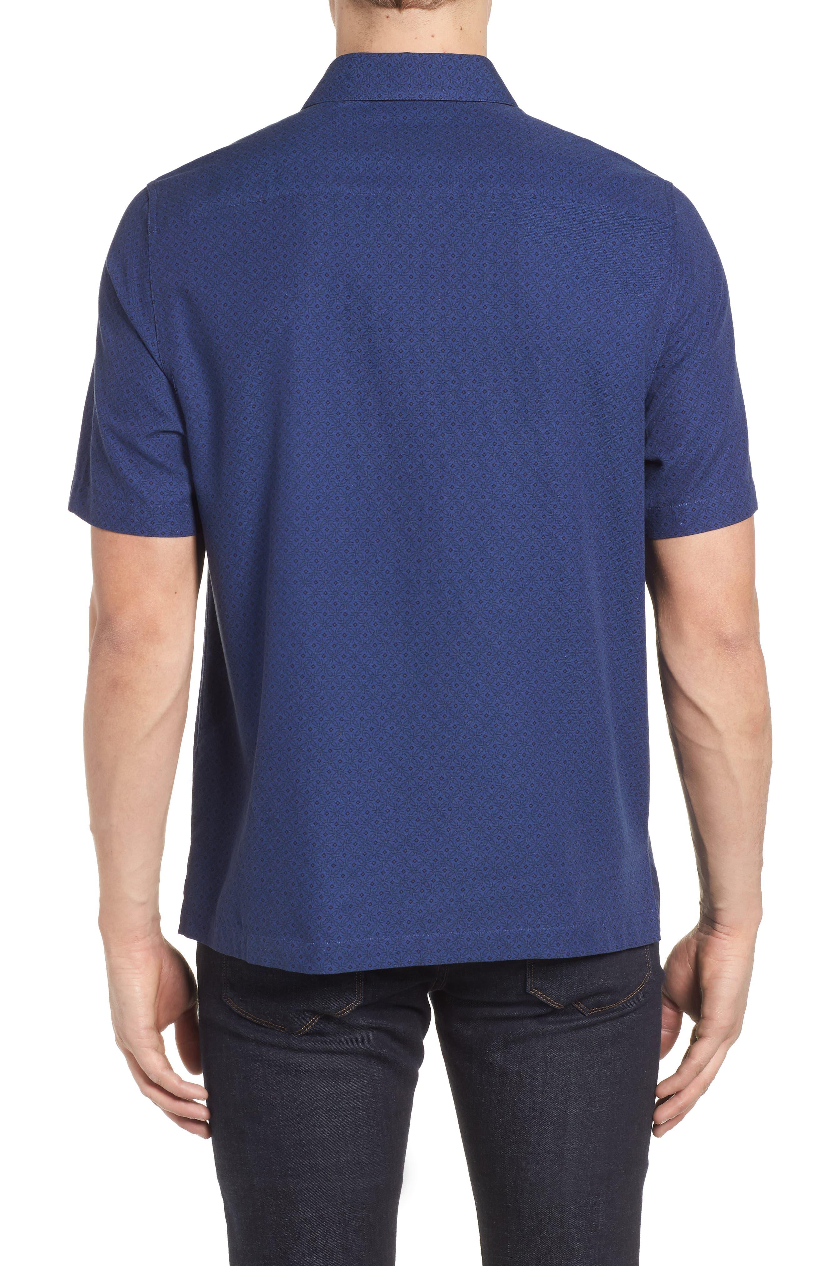 Fleural Camp Shirt,                             Alternate thumbnail 4, color,