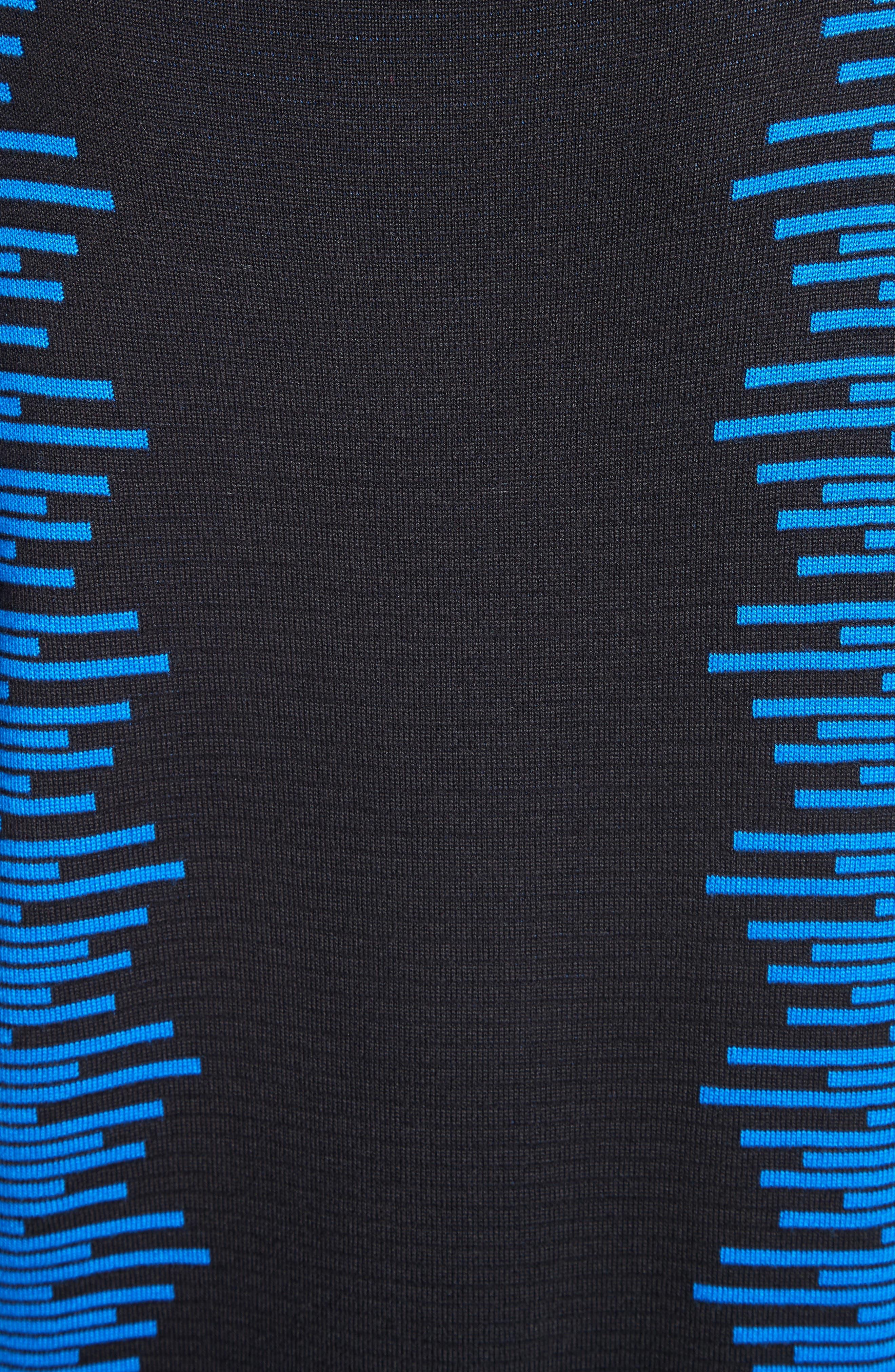 Stripe Jacquard Tunic,                             Alternate thumbnail 6, color,                             400