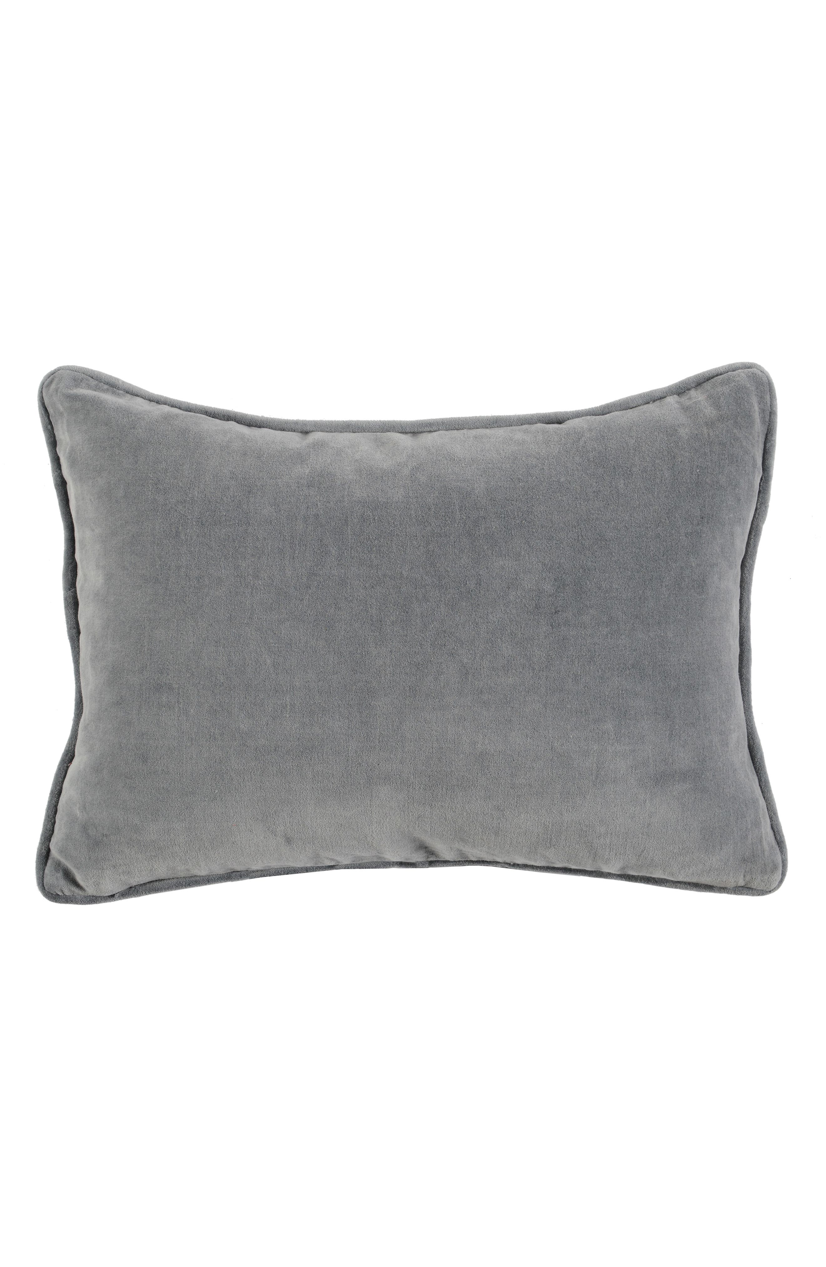 Stella Velvet Accent Pillow,                             Alternate thumbnail 2, color,                             400