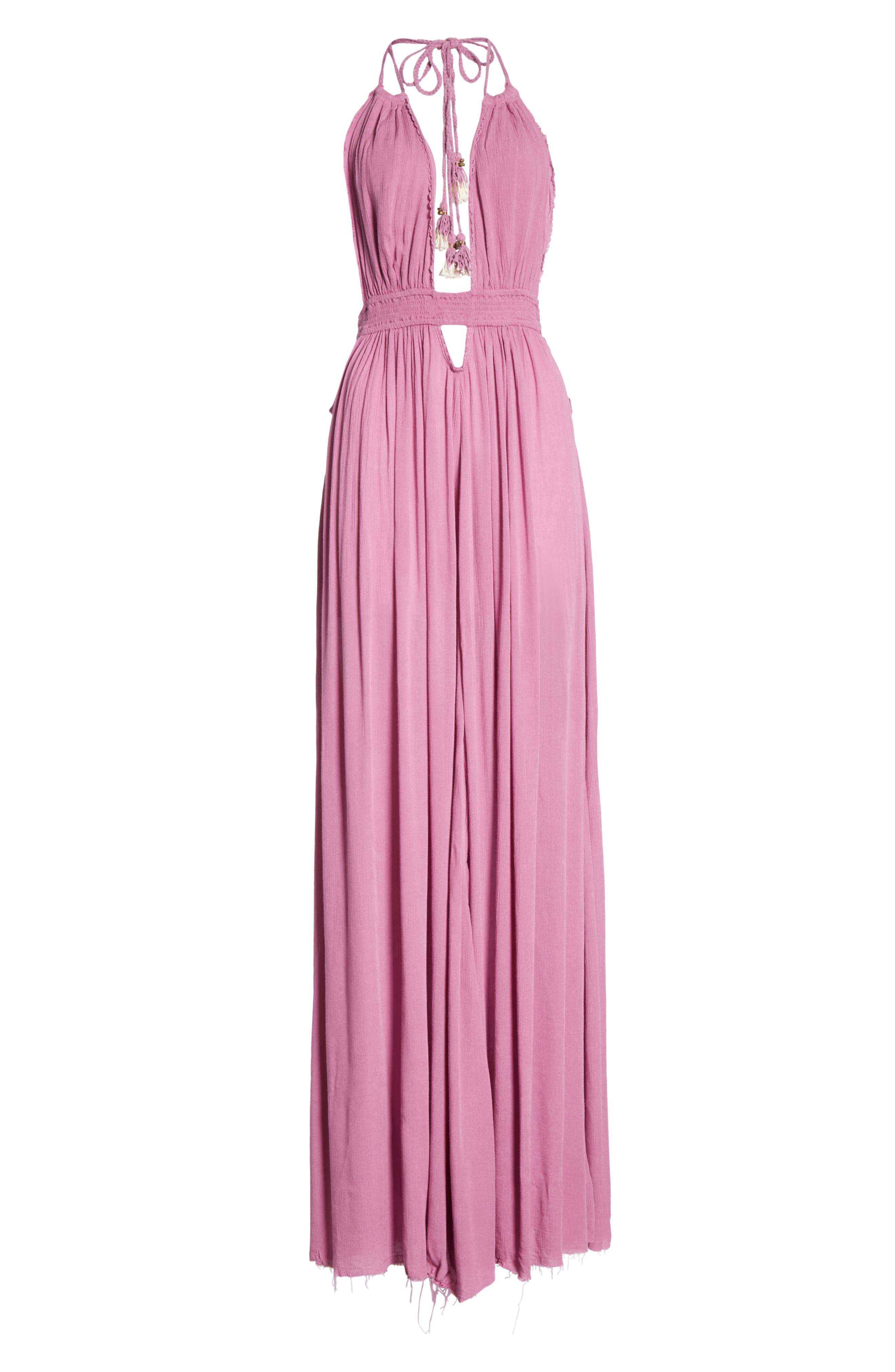 Endless Summer by Free People Look into the Sun Maxi Dress,                             Alternate thumbnail 8, color,                             VIOLET