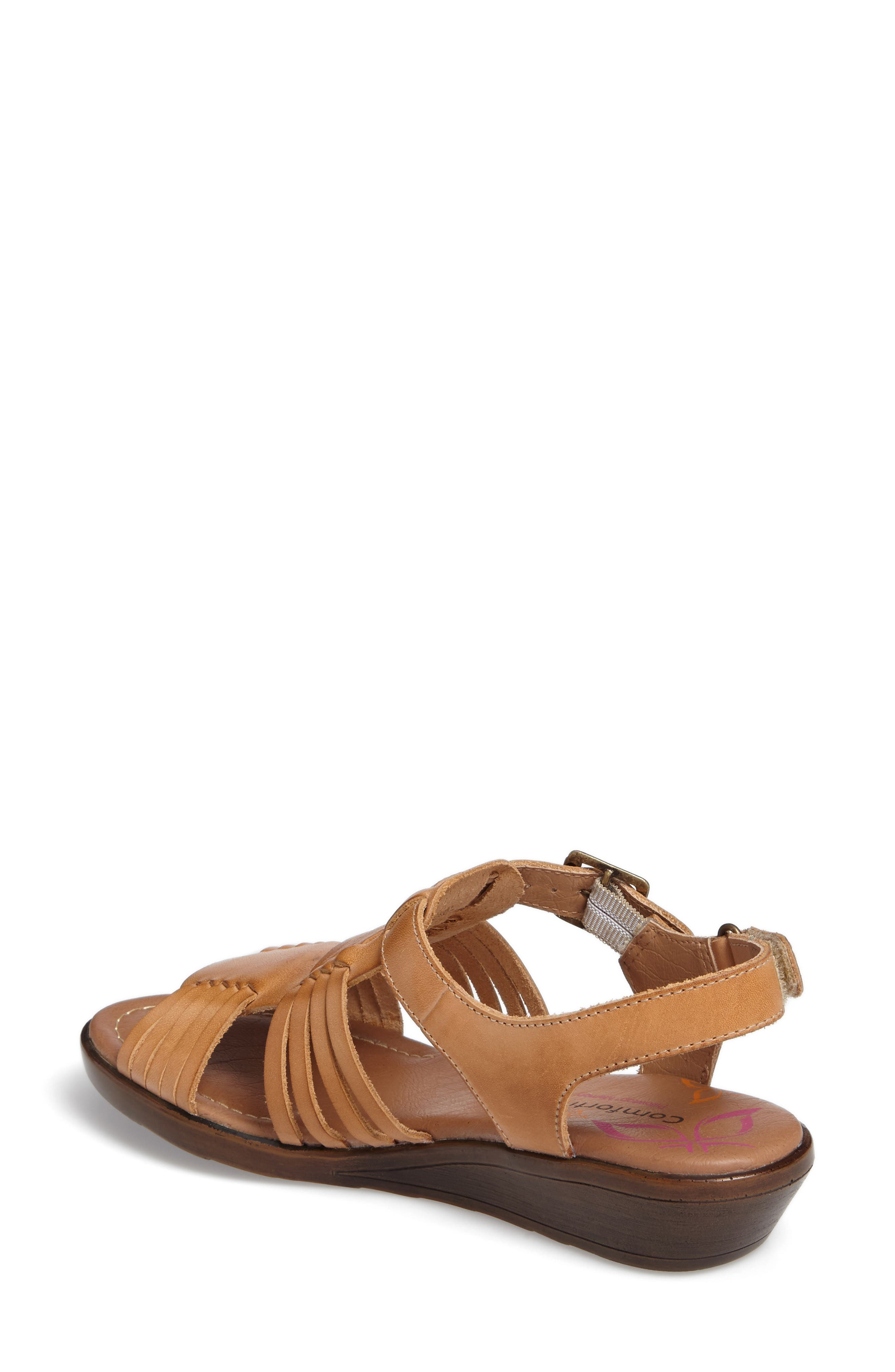 Freeport Sandal,                             Alternate thumbnail 2, color,                             NATURAL LEATHER