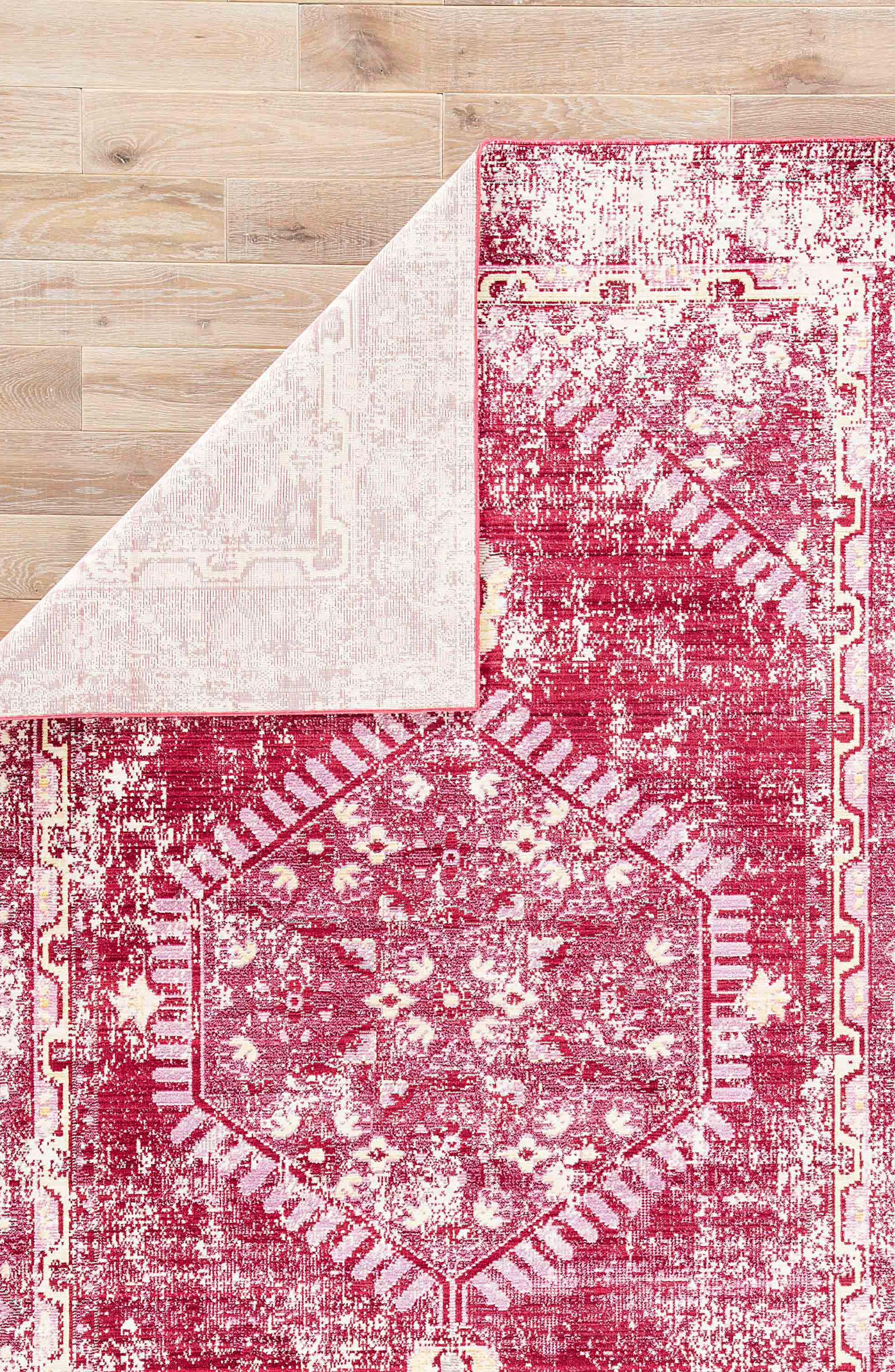 Persia Lux Rug,                             Alternate thumbnail 2, color,                             DISTRESSED RED