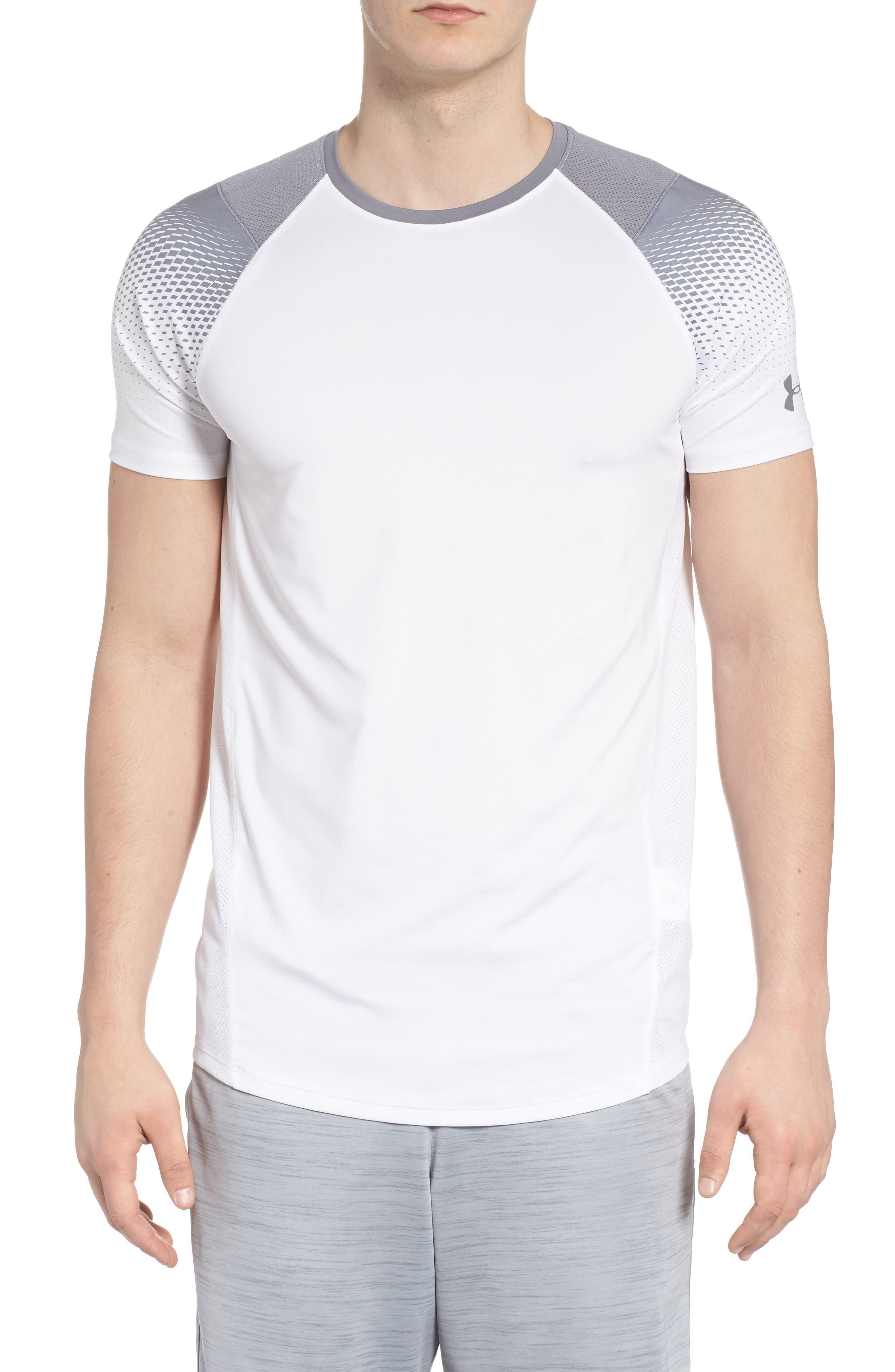 MK1 Dash Print Crewneck T-Shirt,                             Main thumbnail 1, color,                             WHITE / ZINC GREH / GRAPHITE