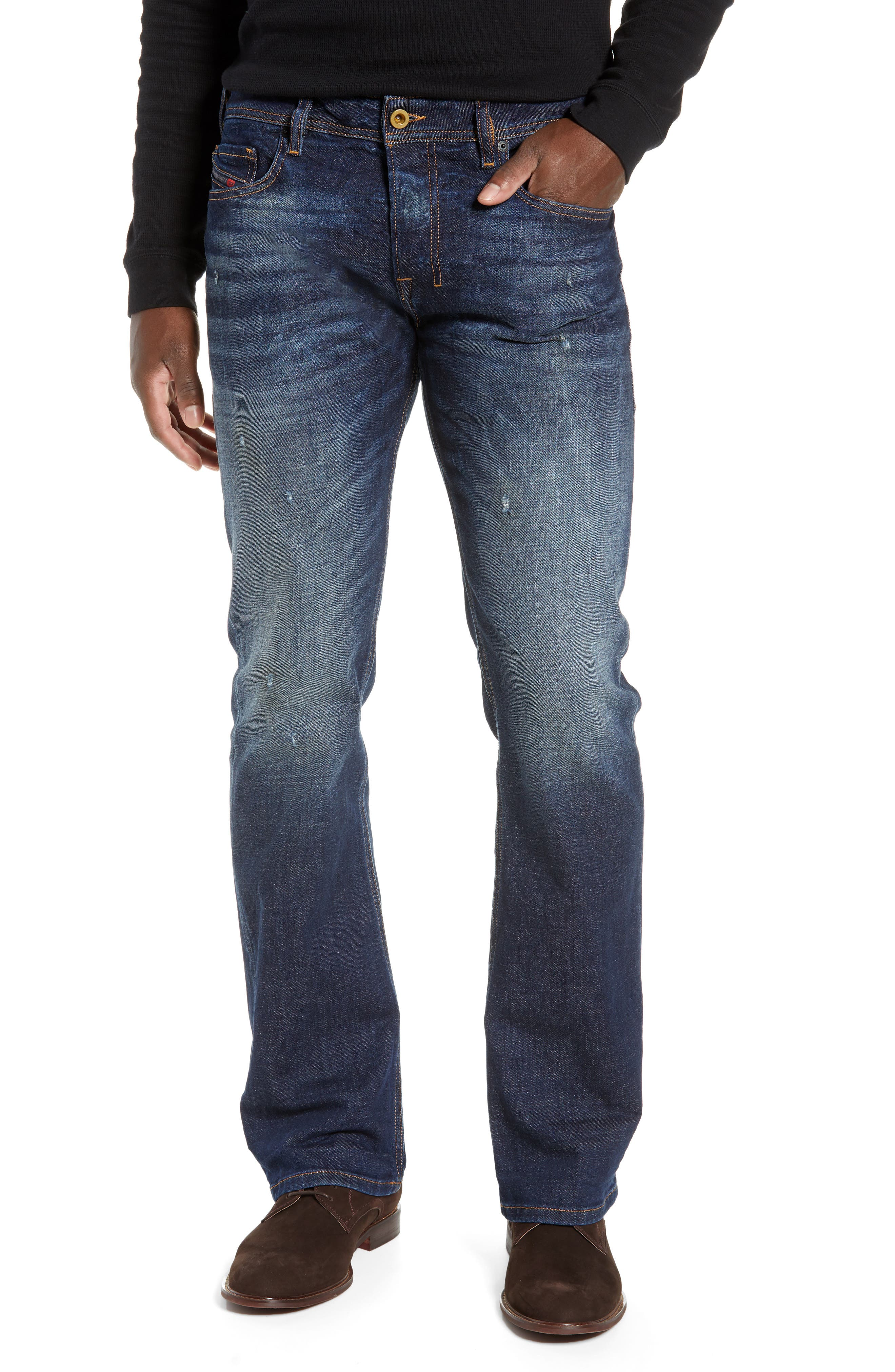 Zatiny Bootcut Jeans, Main, color, 087AT