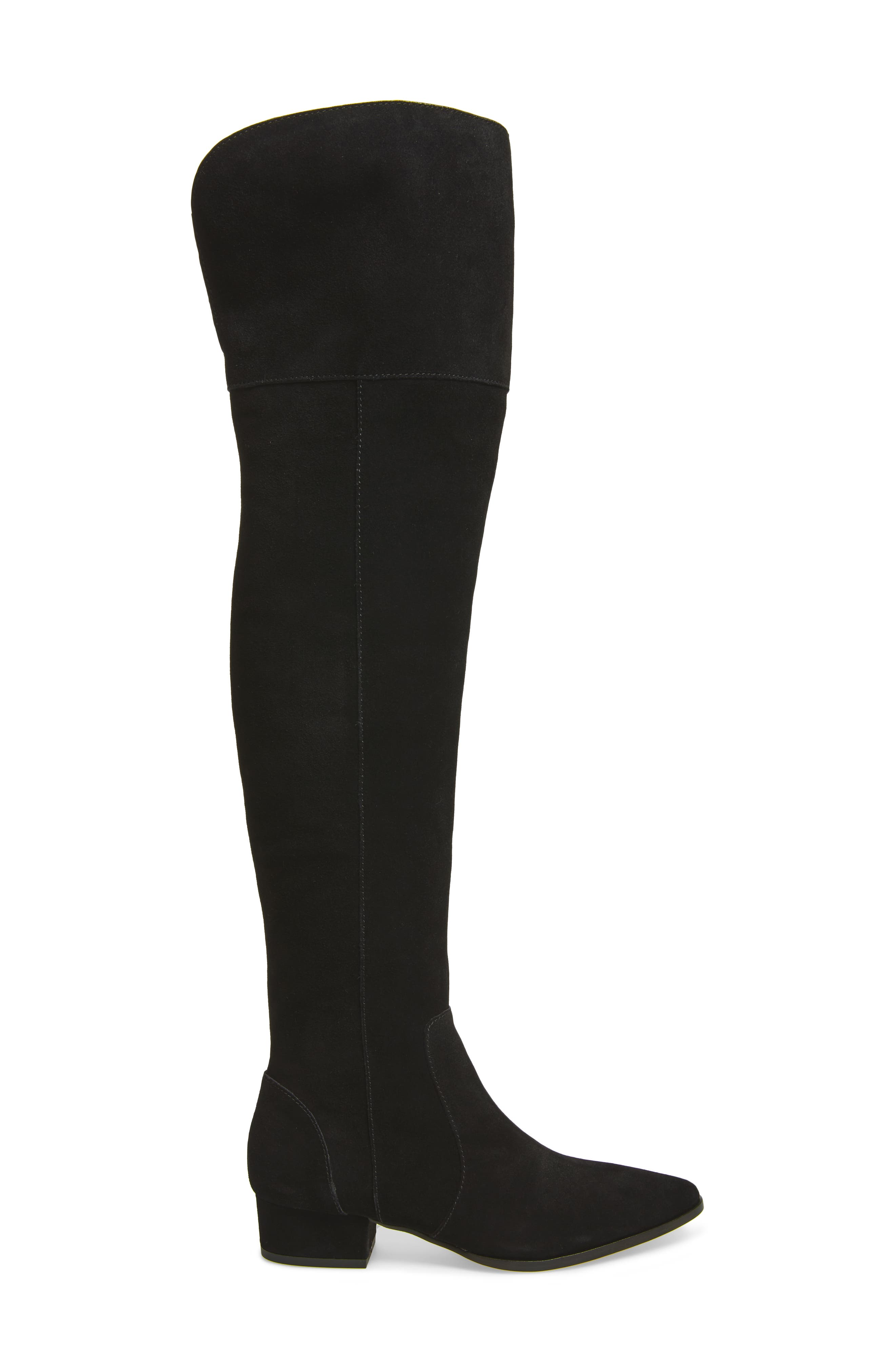 Ruby Over the Knee Boot,                             Alternate thumbnail 3, color,                             013