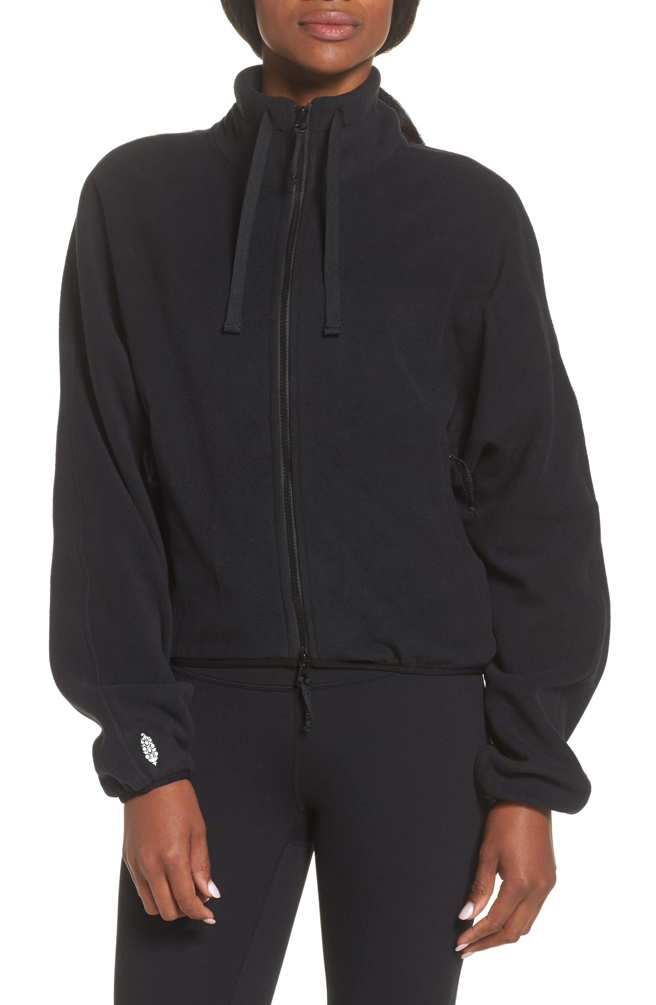 FP Movement Higher Ground Fleece Jacket,                             Alternate thumbnail 8, color,