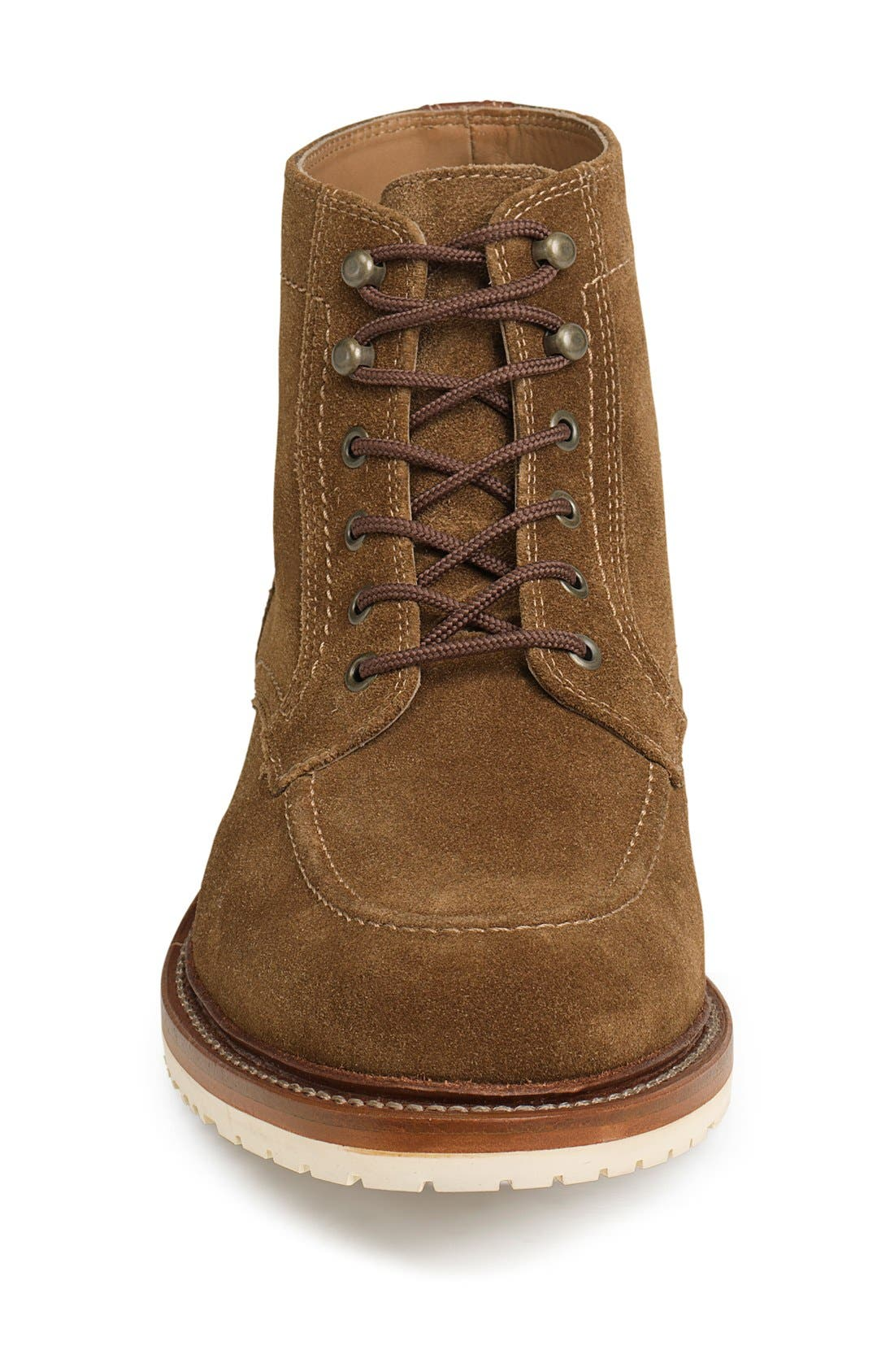 'Andrew Mid' Apron Toe Boot,                             Alternate thumbnail 9, color,