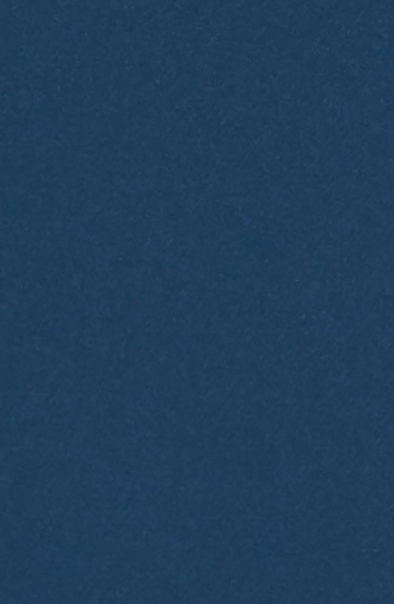 Ruffle Crepe A-Line Dress,                             Alternate thumbnail 6, color,                             400