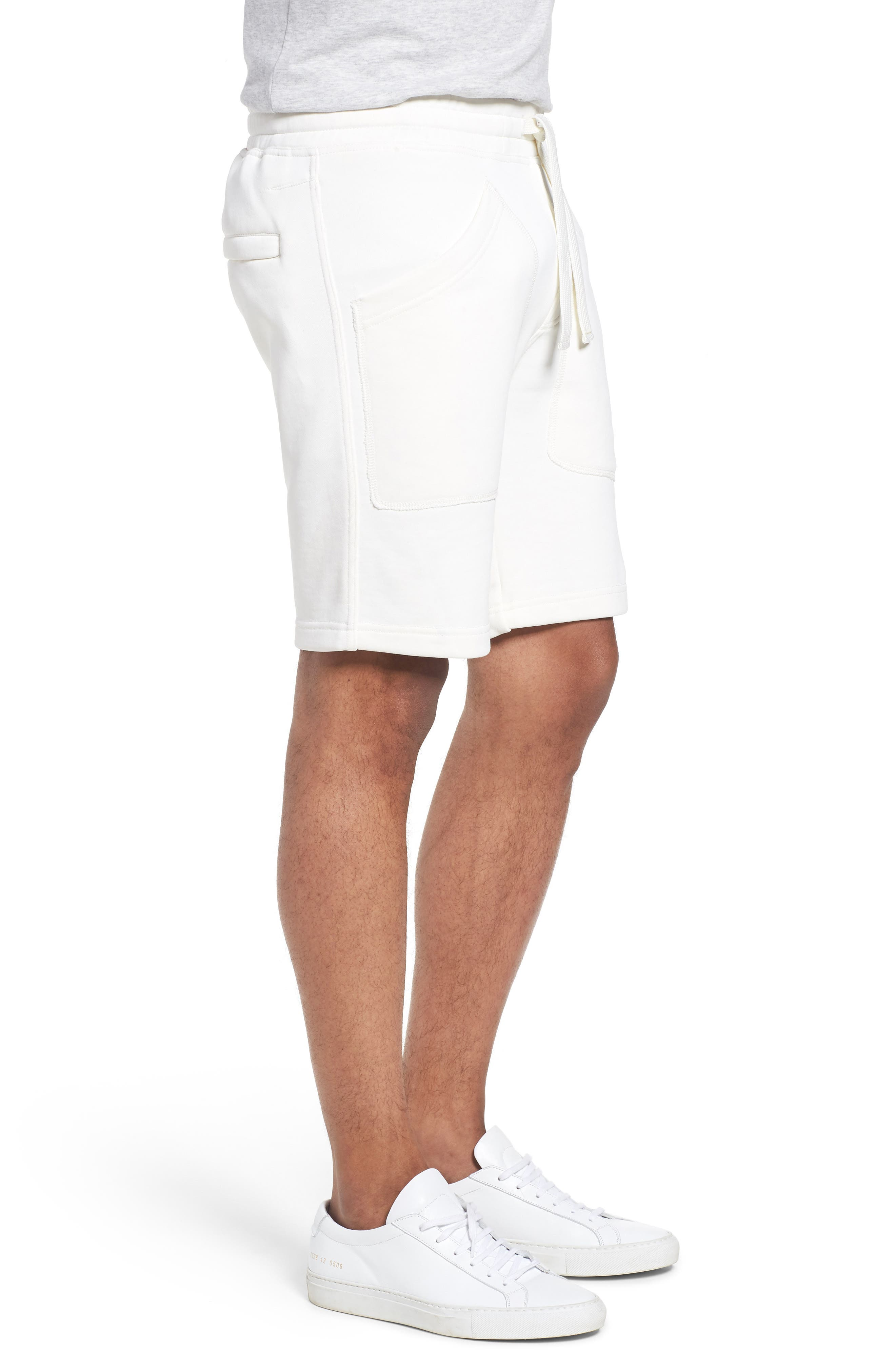 Lux French Terry Shorts,                             Alternate thumbnail 3, color,                             250