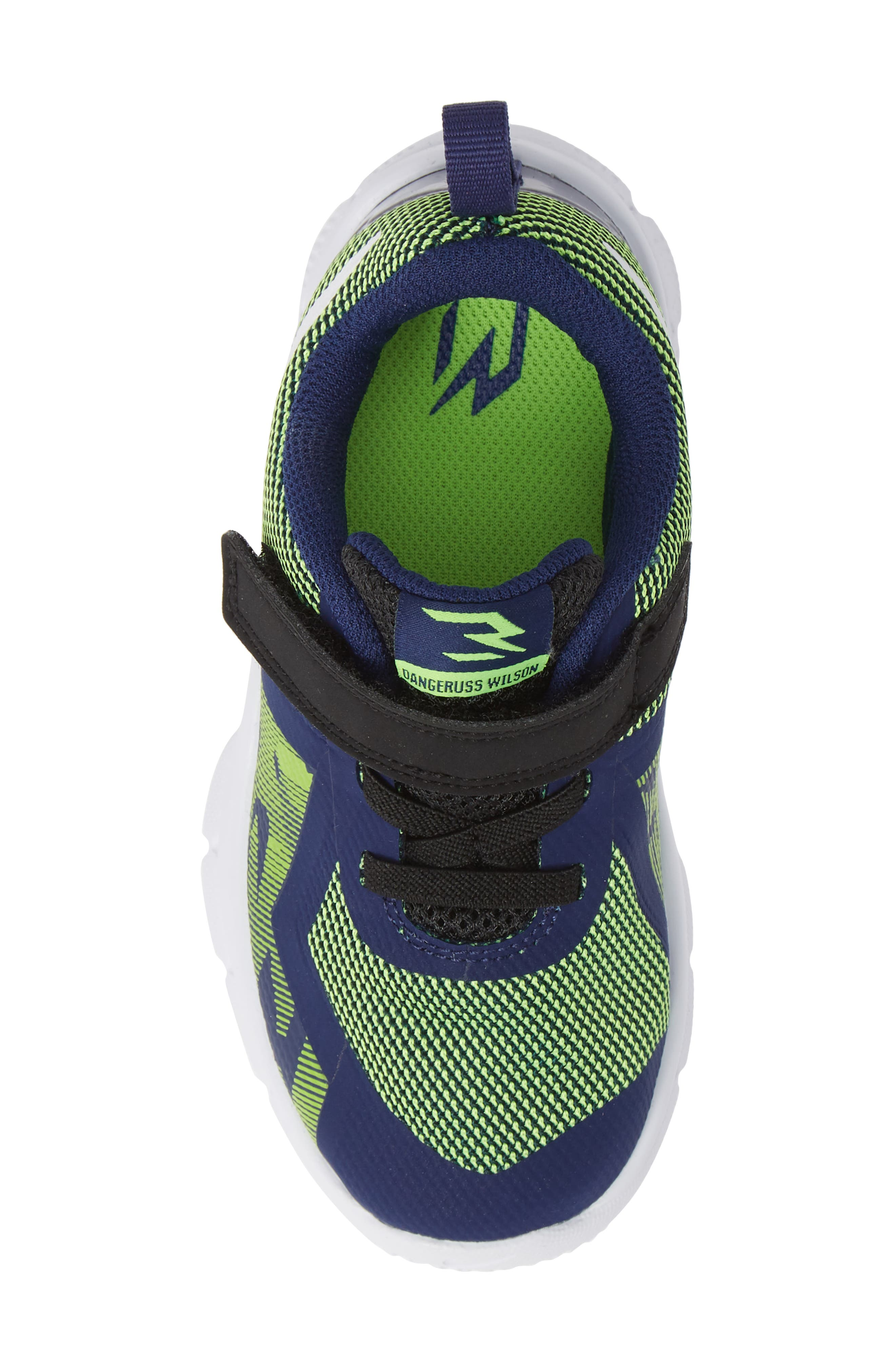 Flex Control II Training Shoe,                             Alternate thumbnail 5, color,                             BLUE/ WHITE/ ELECTRIC GREEN