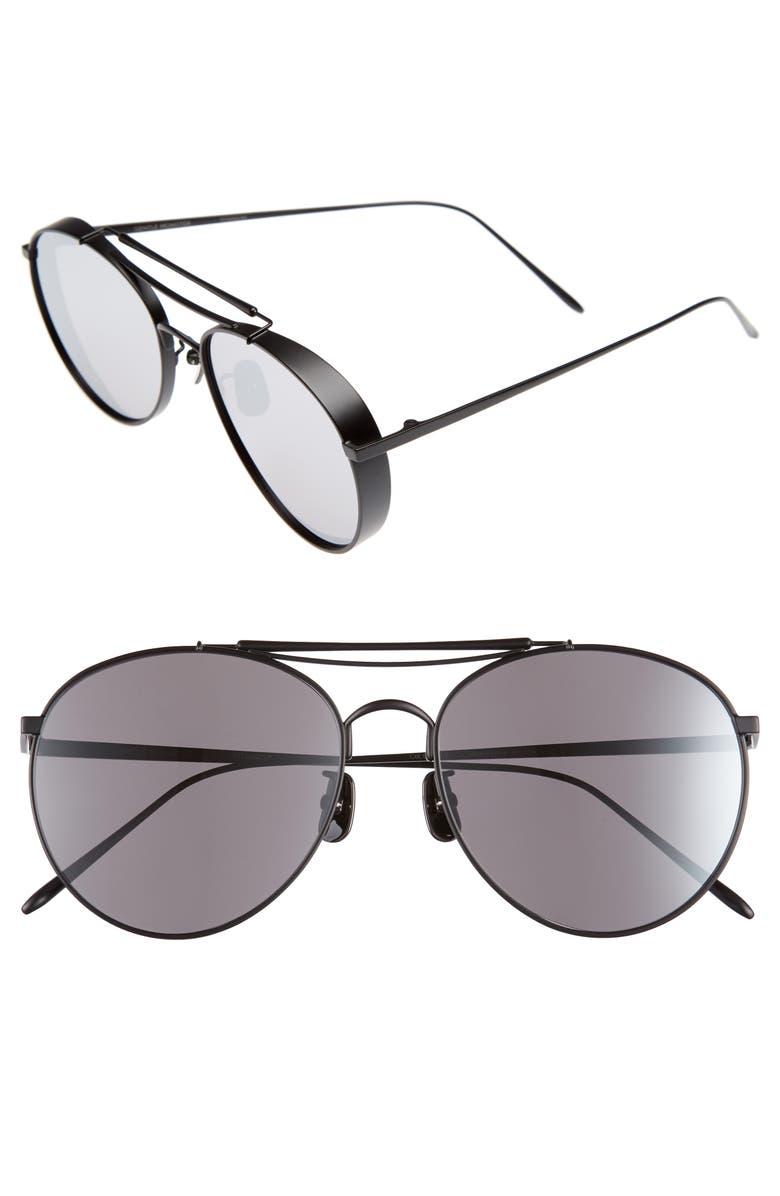 33c8fa868c Gentle Monster Big Bully 56mm Aviator Sunglasses