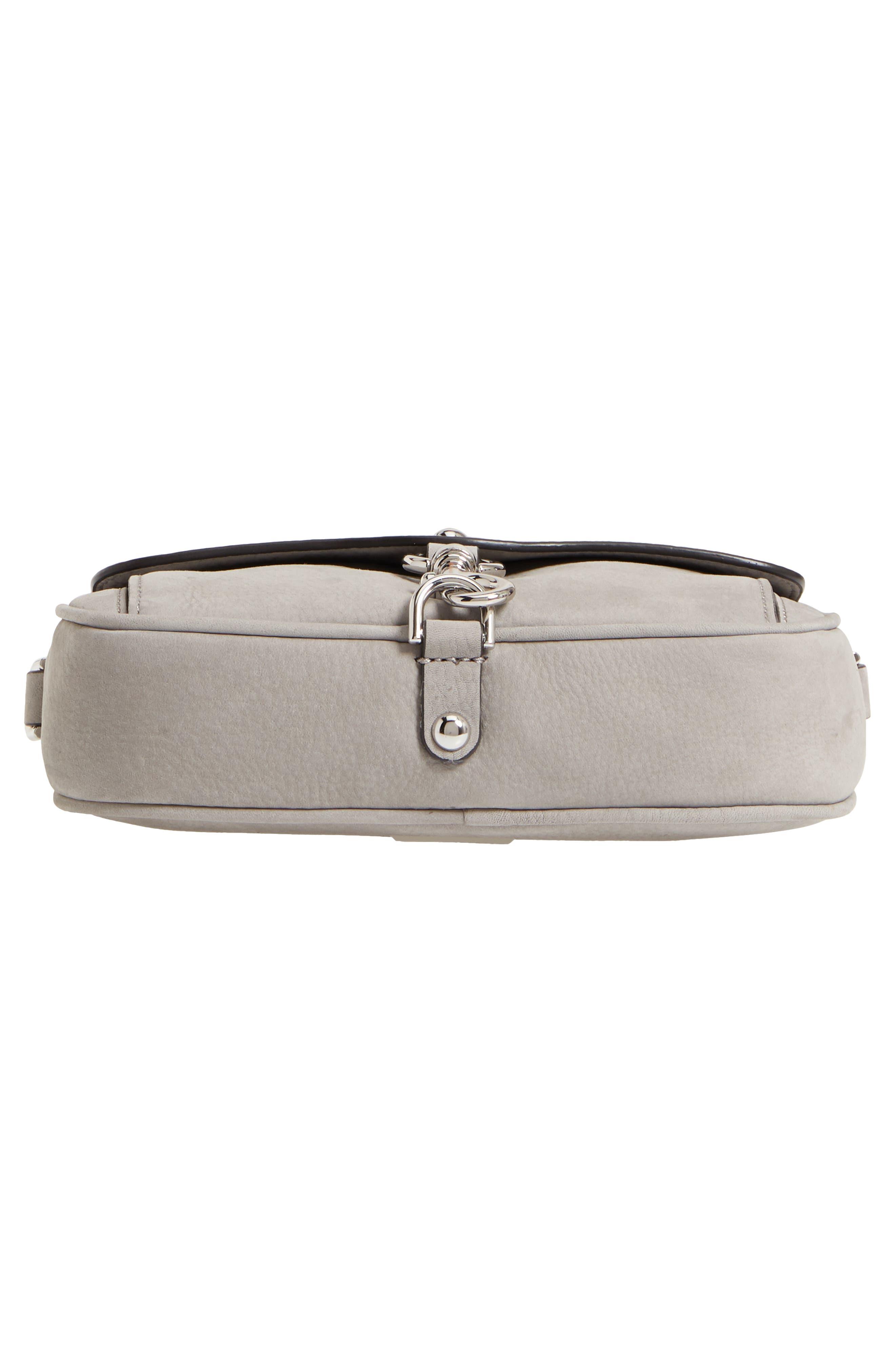 REBECCA MINKOFF,                             Blythe Leather Crossbody Bag,                             Alternate thumbnail 6, color,                             020
