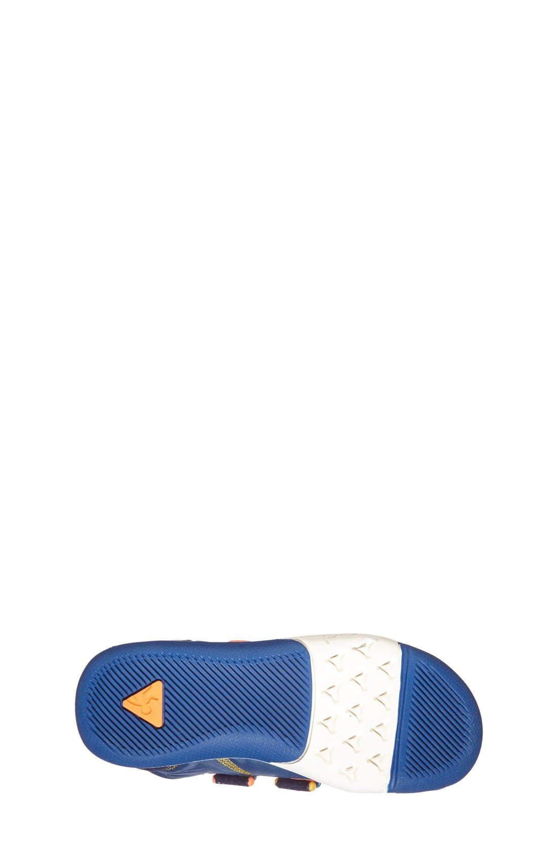 Ty Customizable Sneaker,                             Alternate thumbnail 4, color,                             DARK BLUE