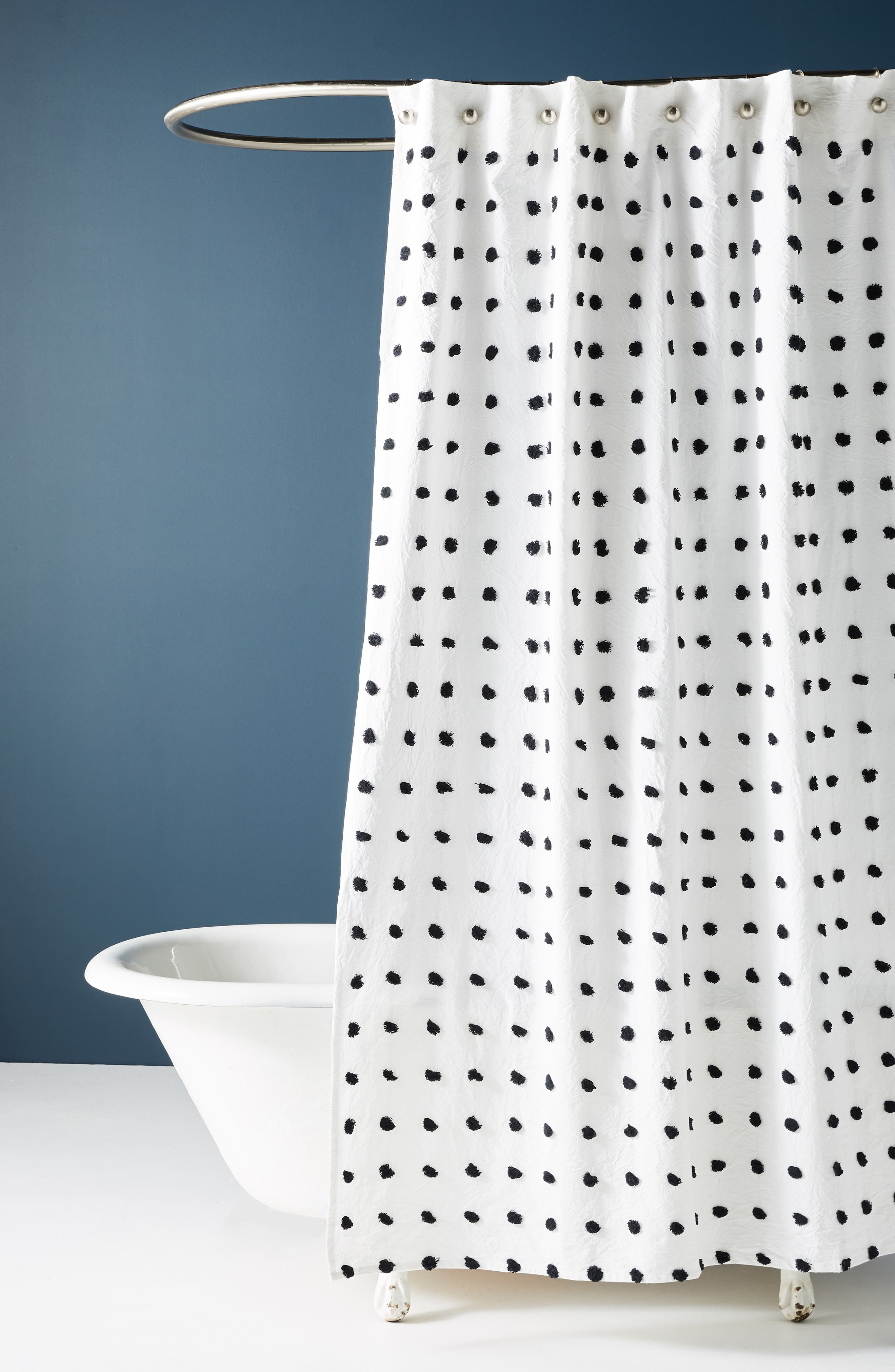 Kanti Shower Curtain,                             Main thumbnail 1, color,                             IVORY