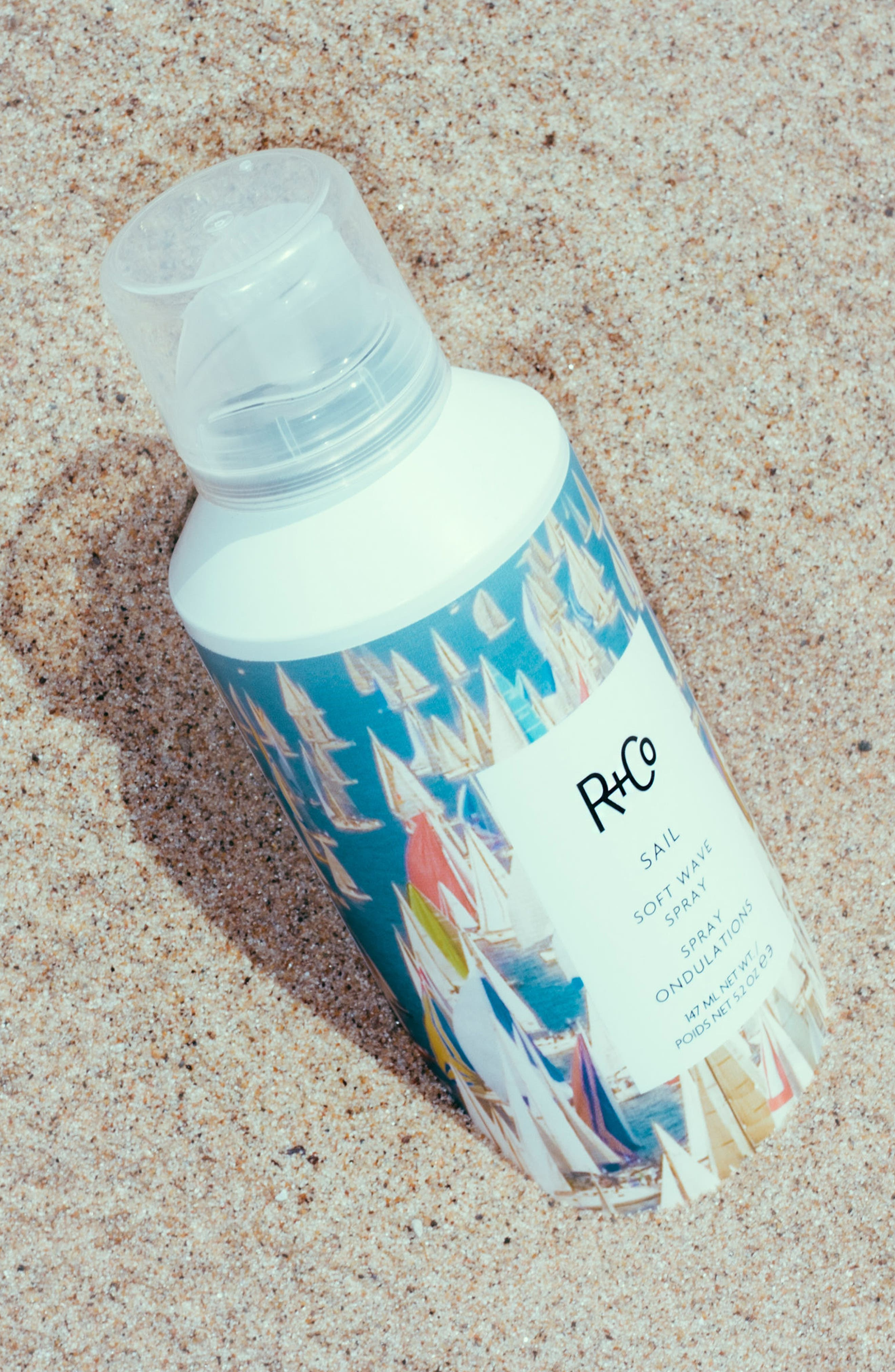 SPACE.NK.apothecary R+Co Sail Soft Wave Spray,                             Alternate thumbnail 5, color,                             NO COLOR