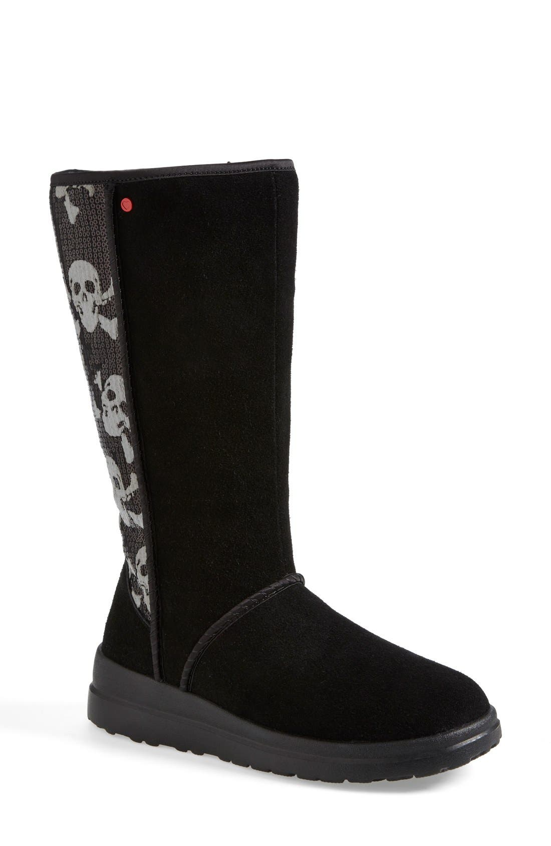 I Heart UGG<sup>™</sup> by UGG<sup>®</sup> Australia 'I Heart Kisses' Tall Boot, Main, color, 008