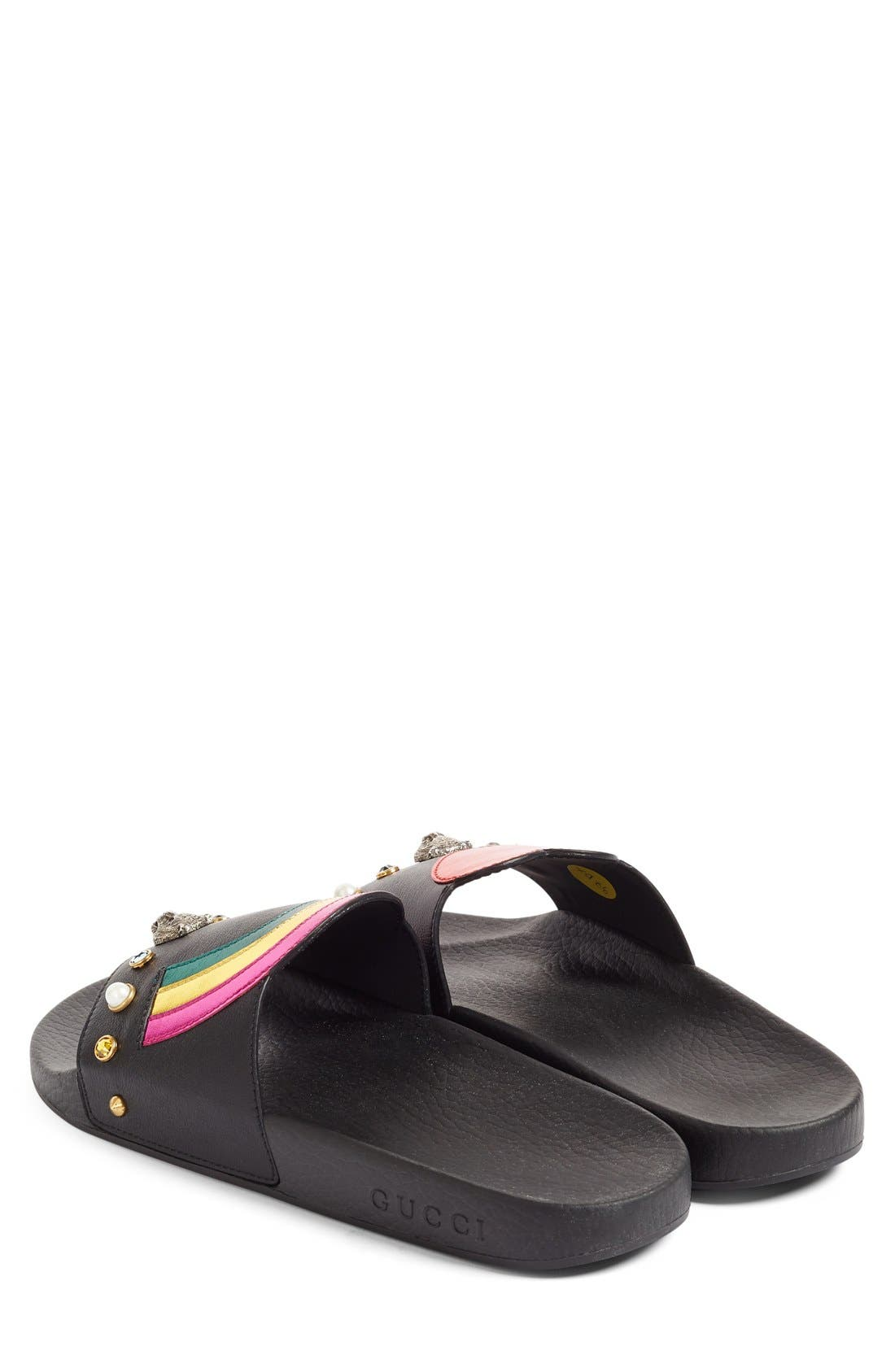 Pursuit Slide Sandal,                             Alternate thumbnail 5, color,                             001