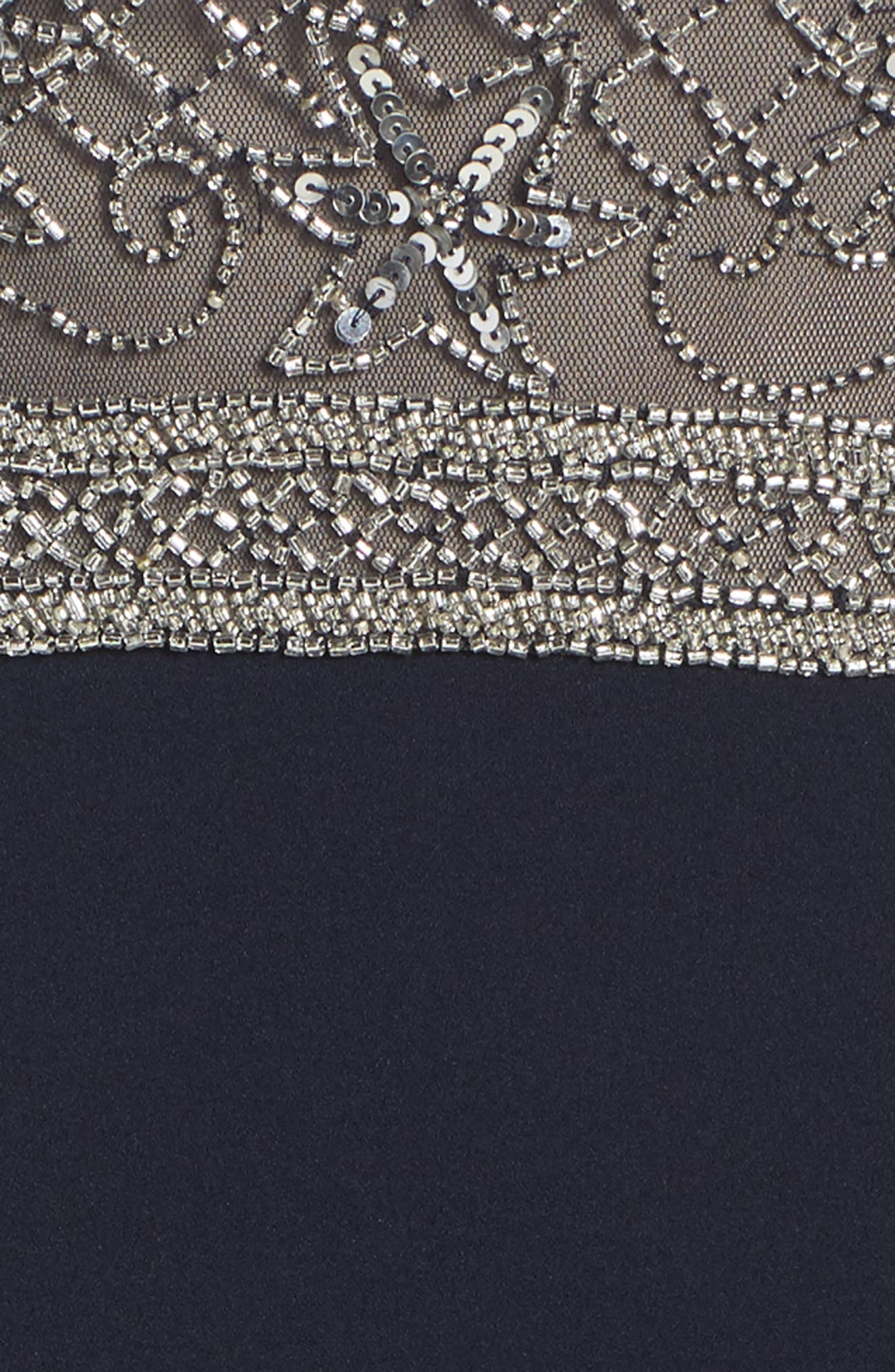 ADRIANNA PAPELL,                             Beaded Gown,                             Alternate thumbnail 6, color,                             412