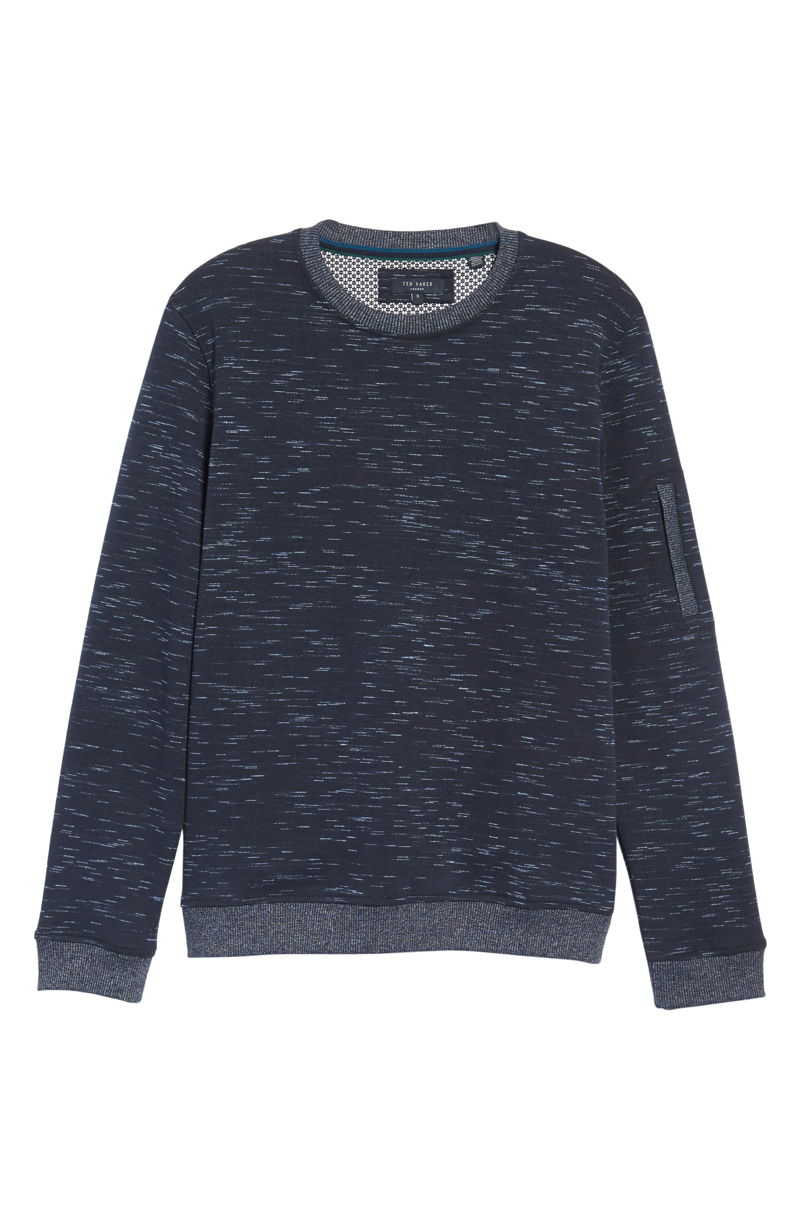 Bepay Jersey Sweatshirt,                             Alternate thumbnail 6, color,                             410