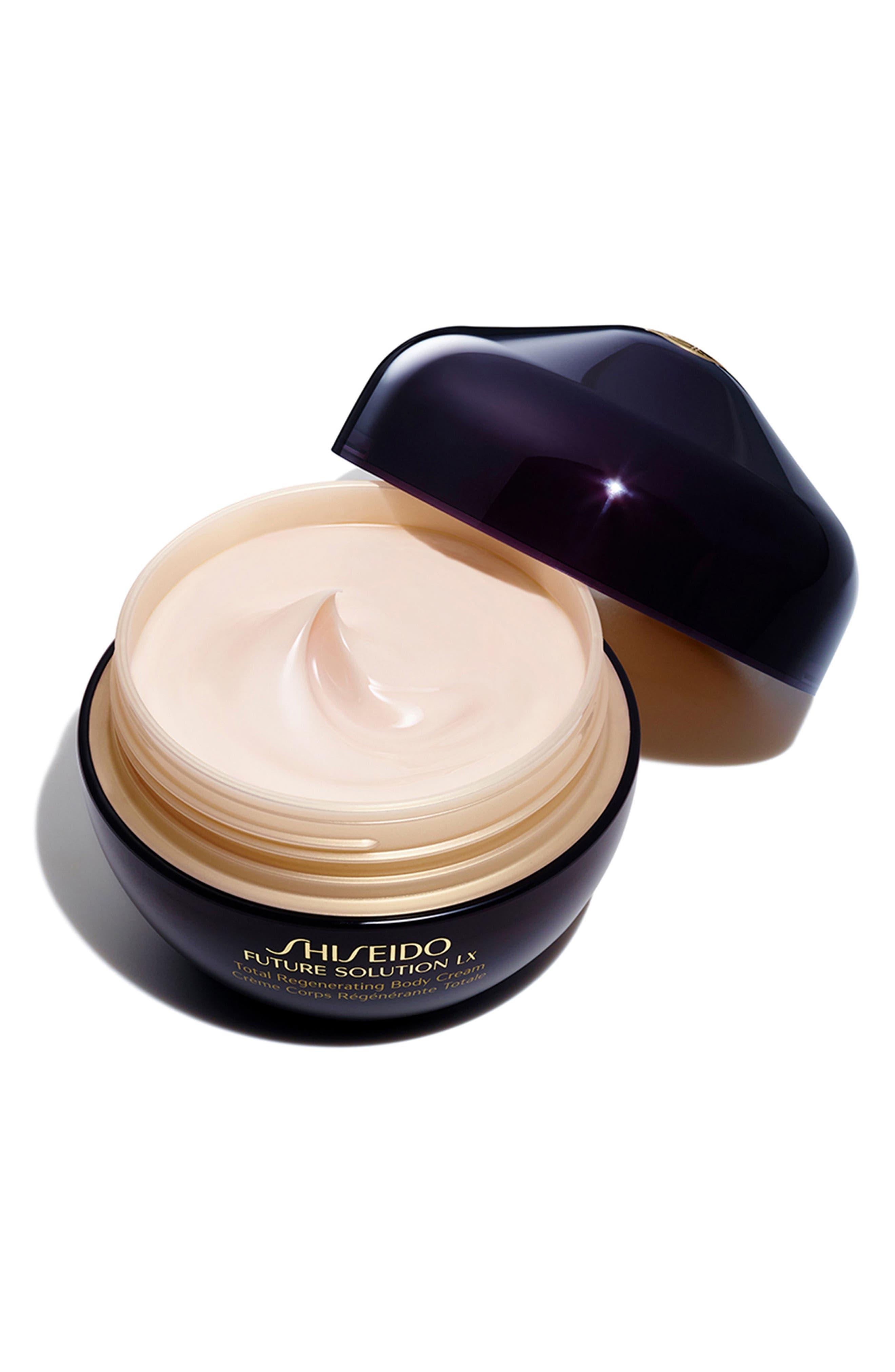 Shisiedo Future Solution LX Total Regenerating Body Cream,                             Alternate thumbnail 2, color,                             NO COLOR