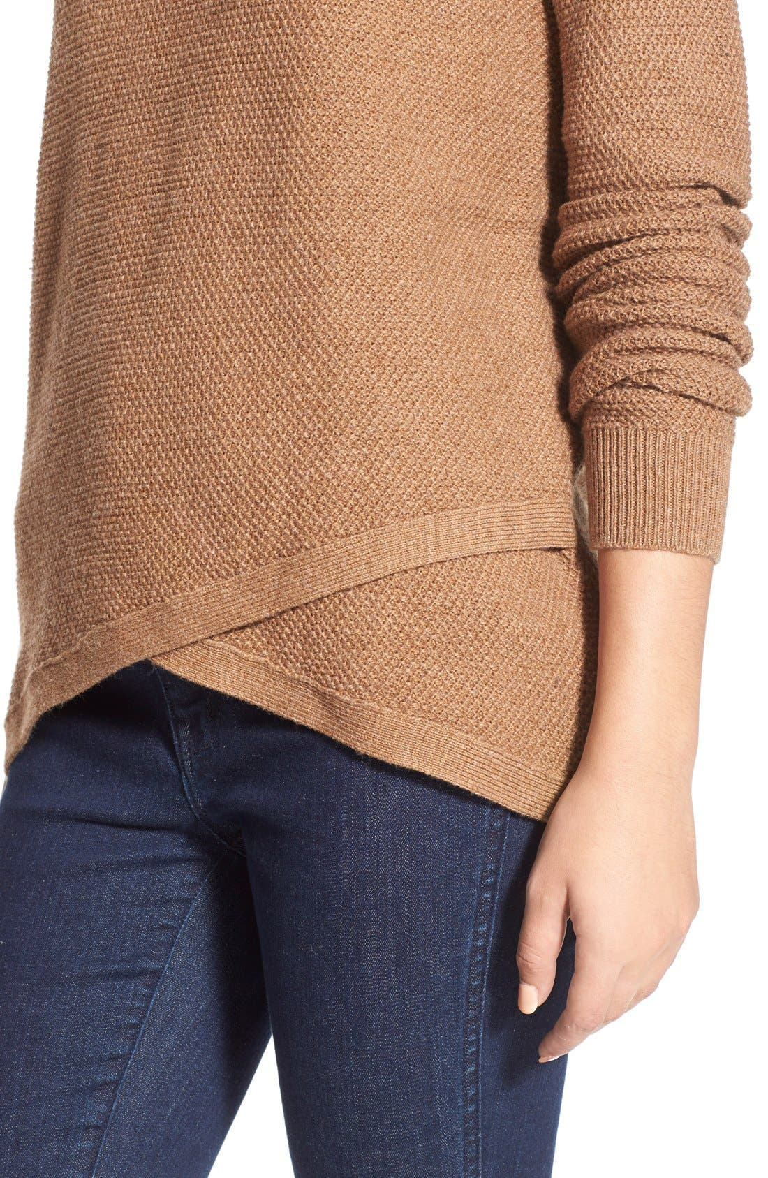 'Feature' Pullover Sweater,                             Alternate thumbnail 5, color,                             250