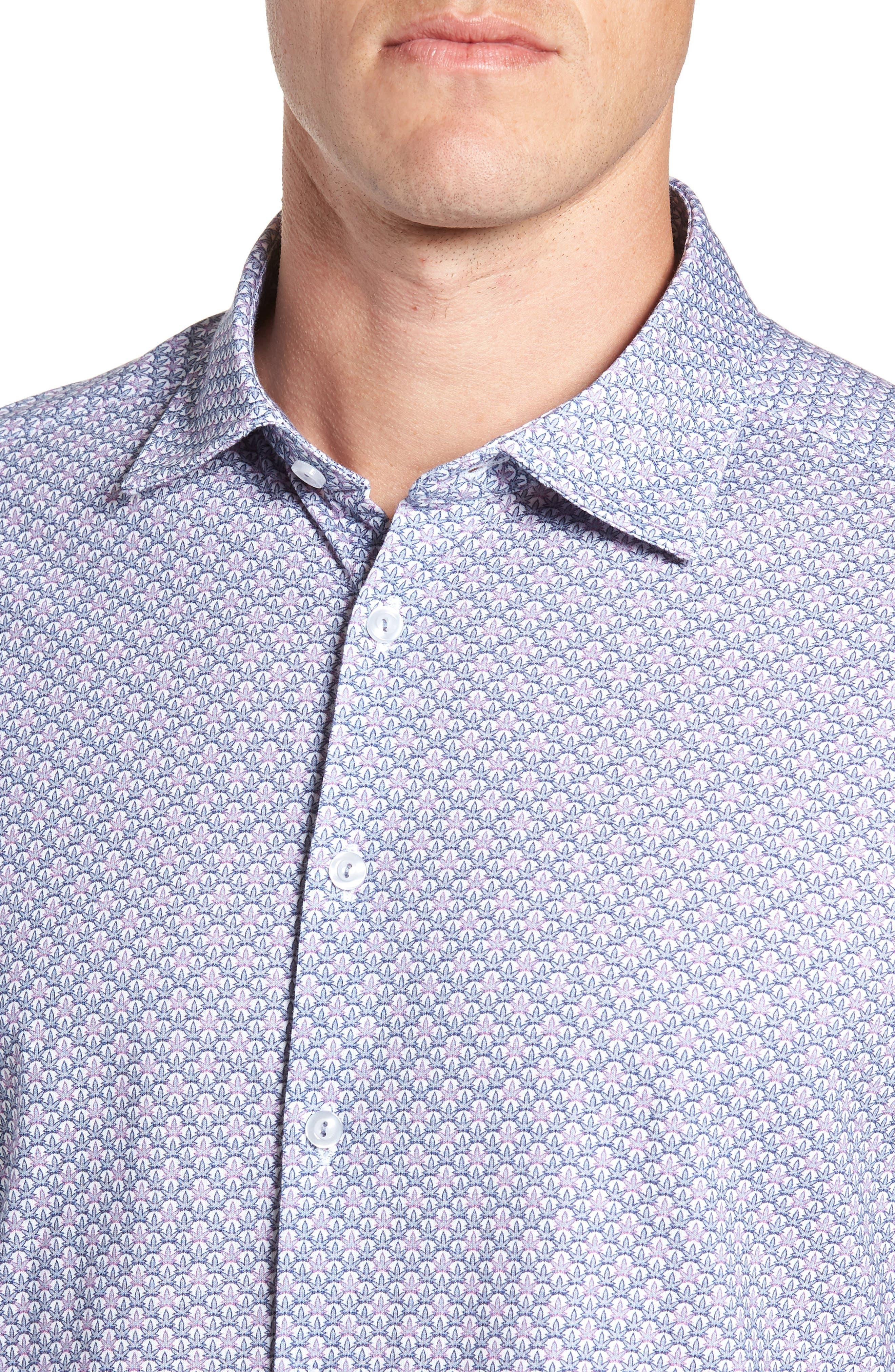 Trim Fit Knit Sport Shirt,                             Alternate thumbnail 2, color,                             100