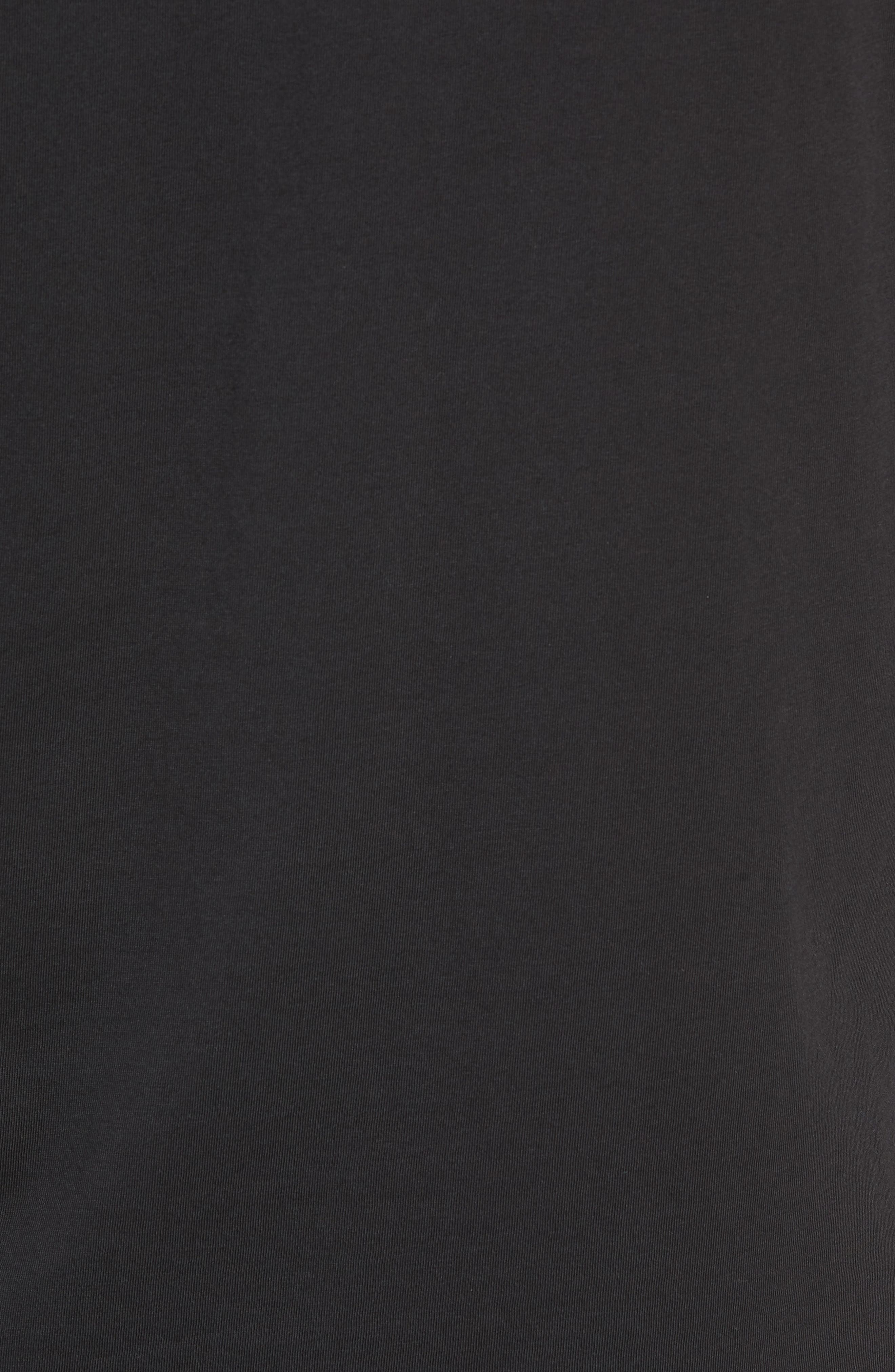 Saturdays Graphic Long Sleeve T-Shirt,                             Alternate thumbnail 5, color,                             BLACK