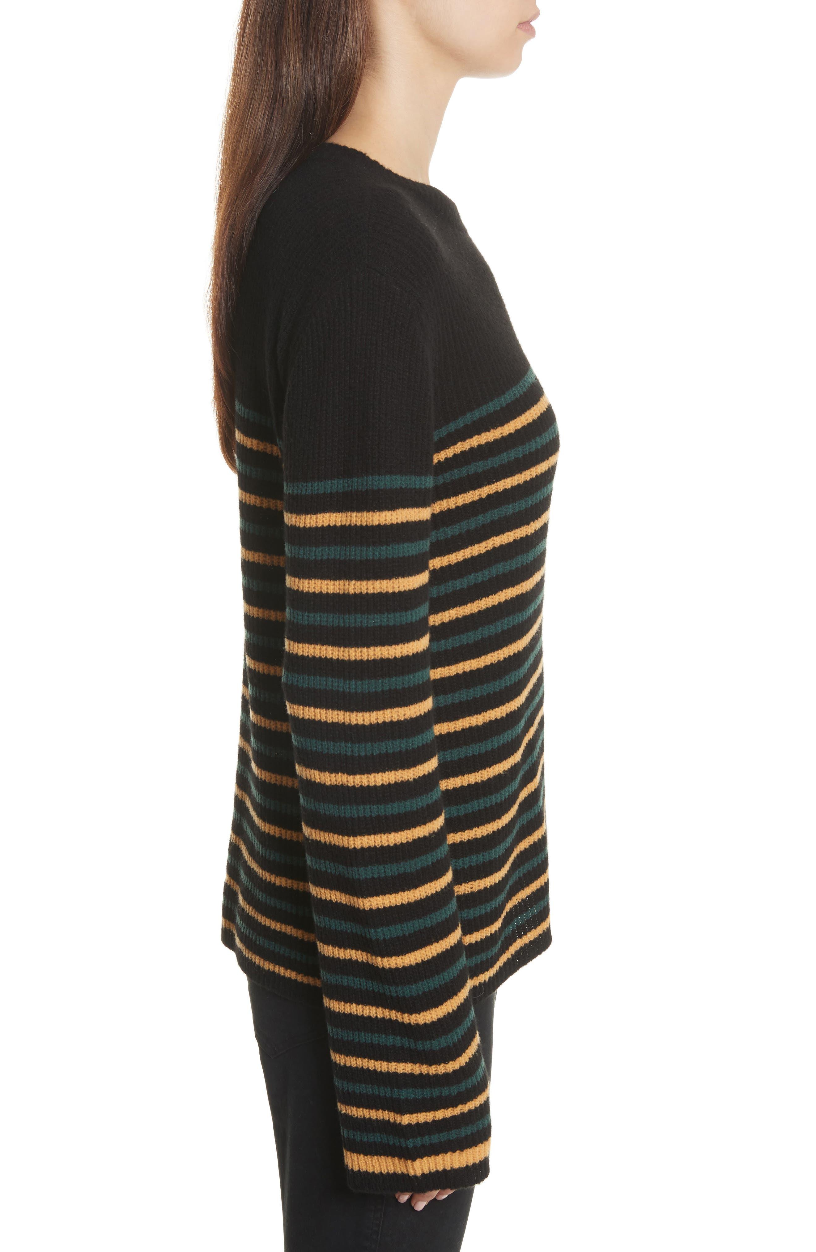 Meryl Stripe Sweater,                             Alternate thumbnail 5, color,