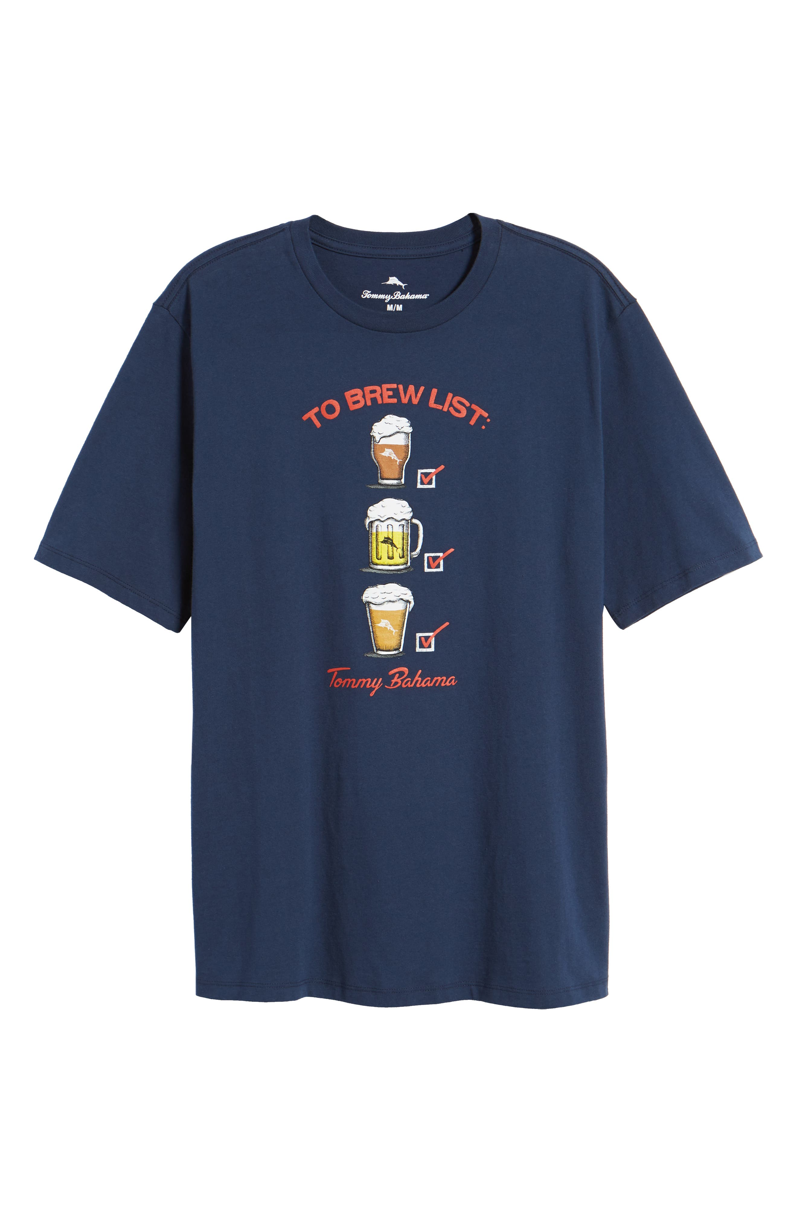 To Brew List T-Shirt,                             Alternate thumbnail 6, color,                             400