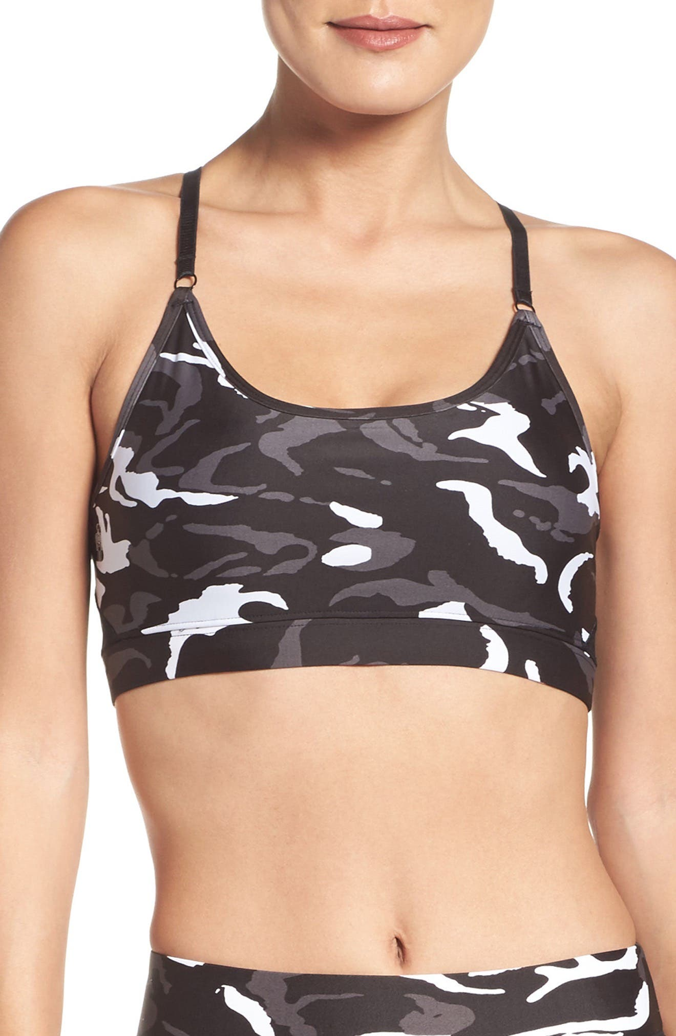 Gravity Medium Support Compression Sports Bra,                             Main thumbnail 2, color,