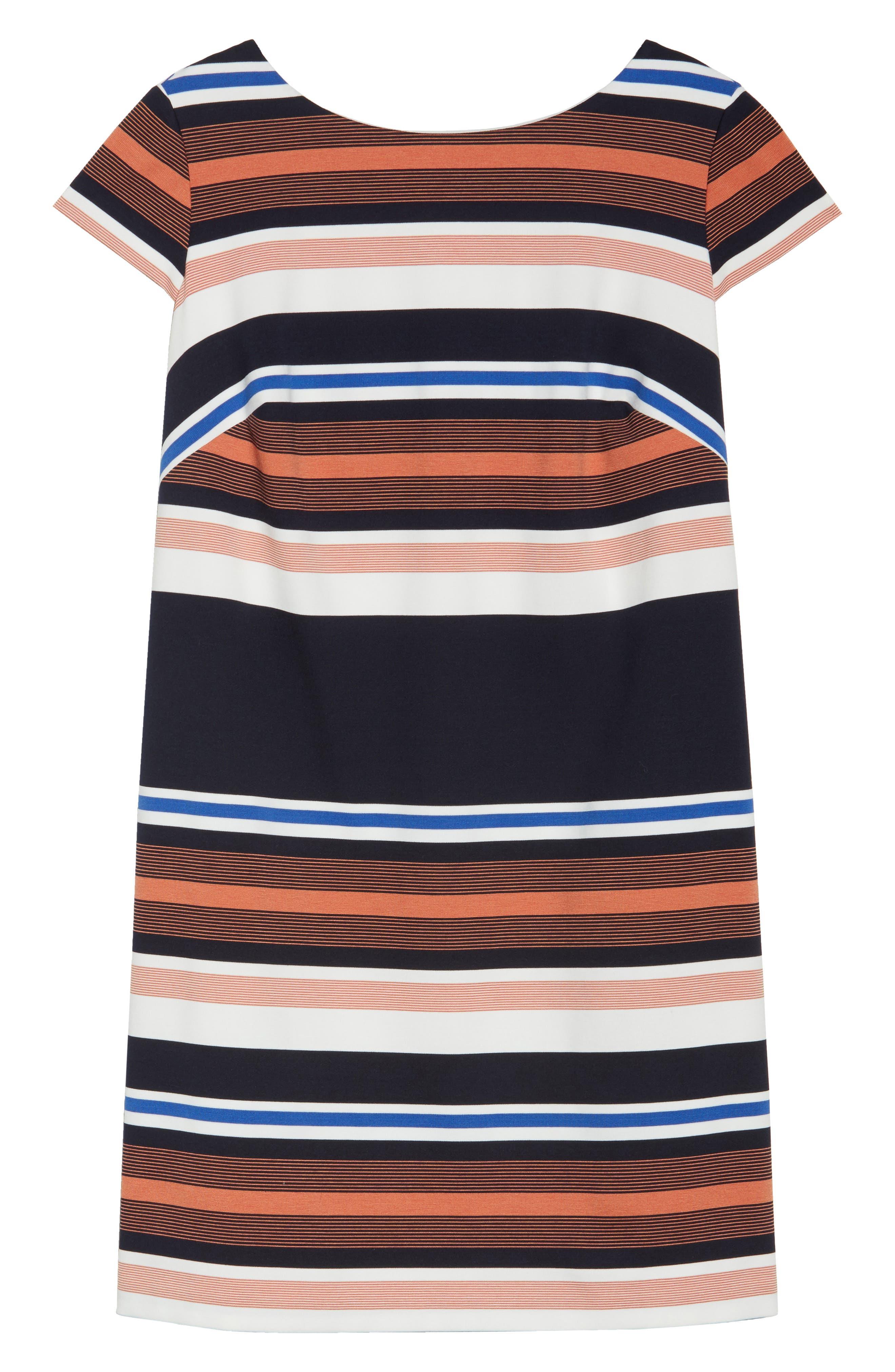 Stripe Shirtdress,                             Alternate thumbnail 6, color,                             474