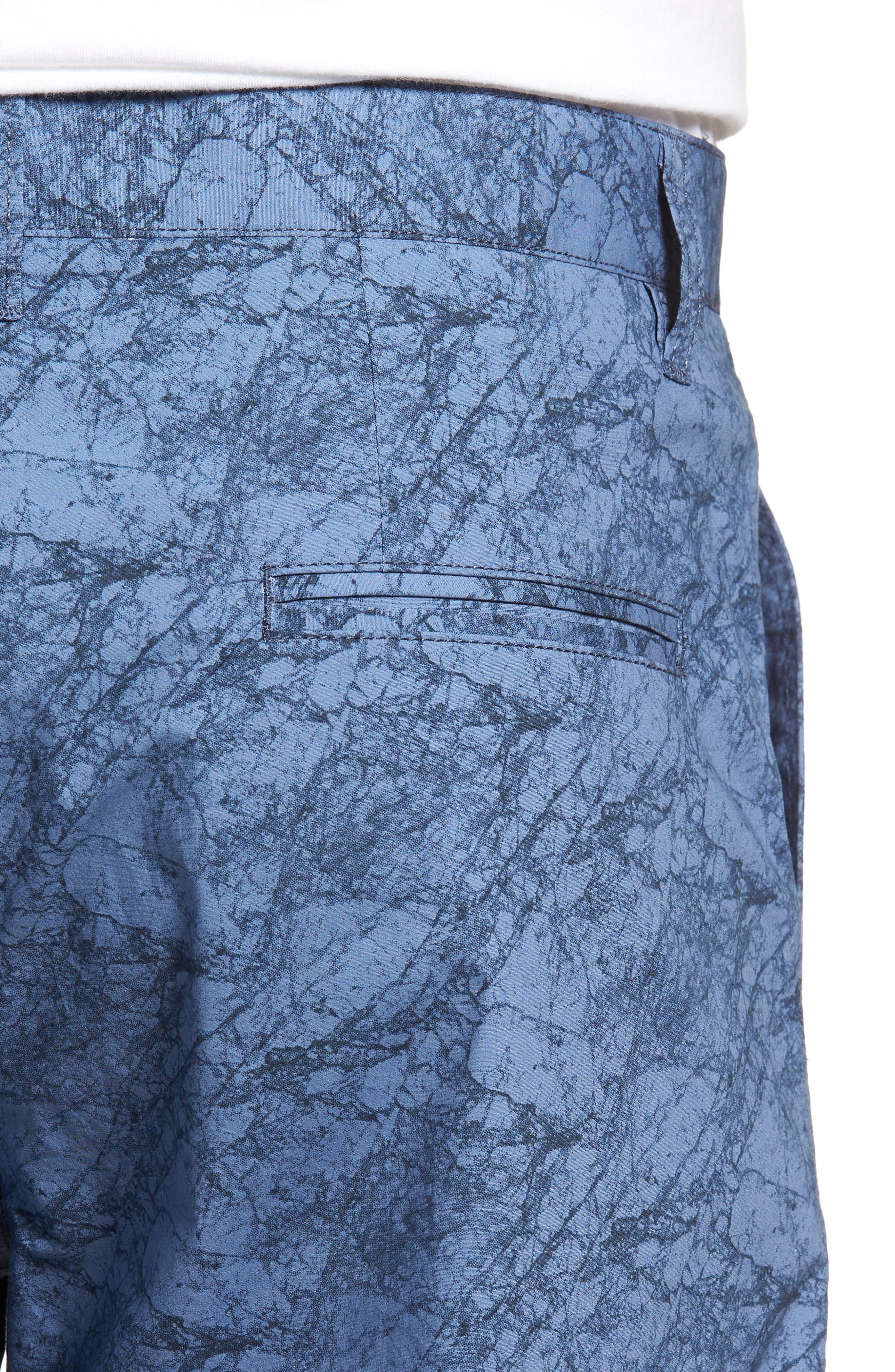 Tristen Stretch Cotton Shorts,                             Alternate thumbnail 4, color,