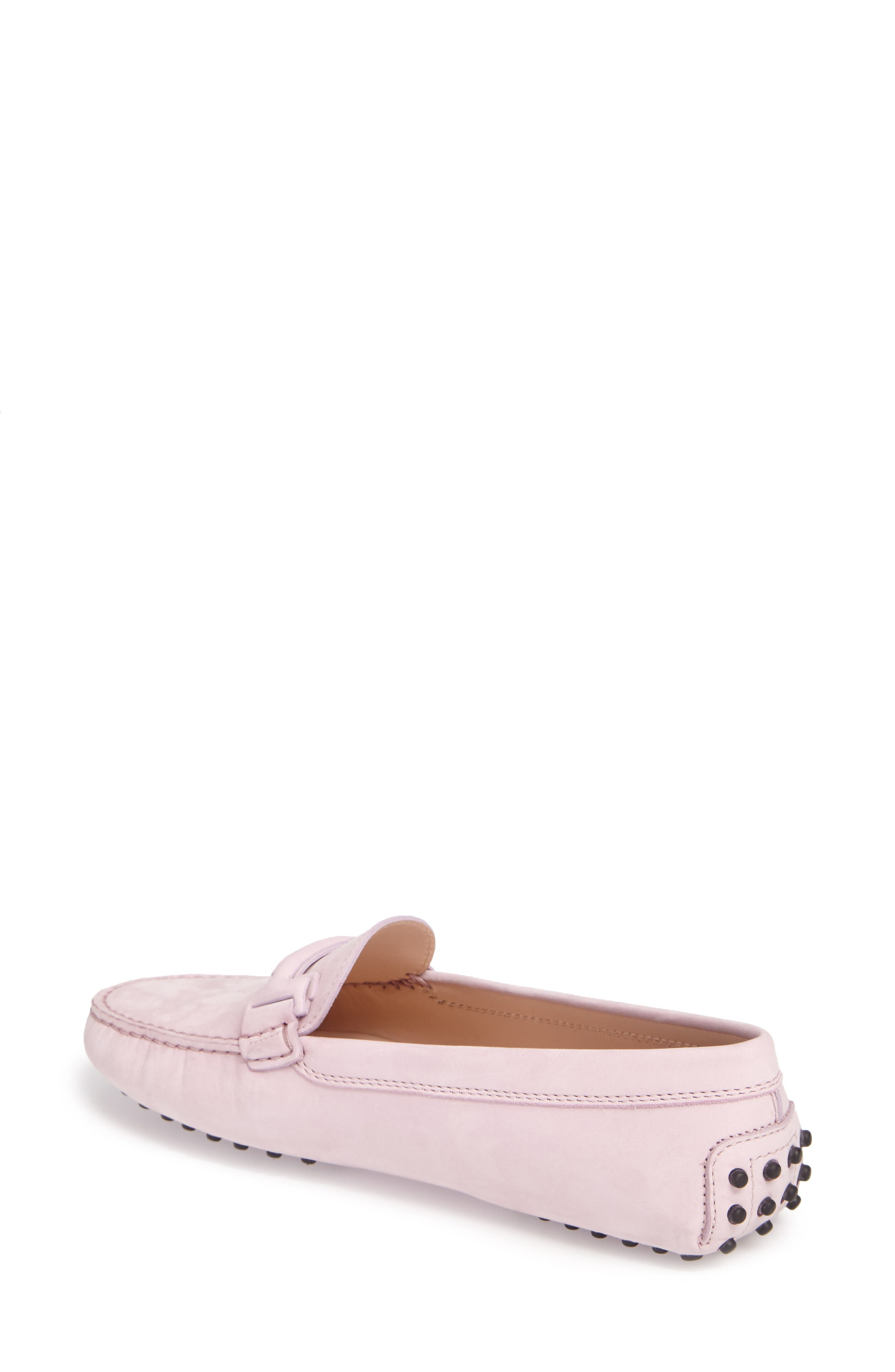 Gommini Covered Double T Loafer,                             Alternate thumbnail 5, color,