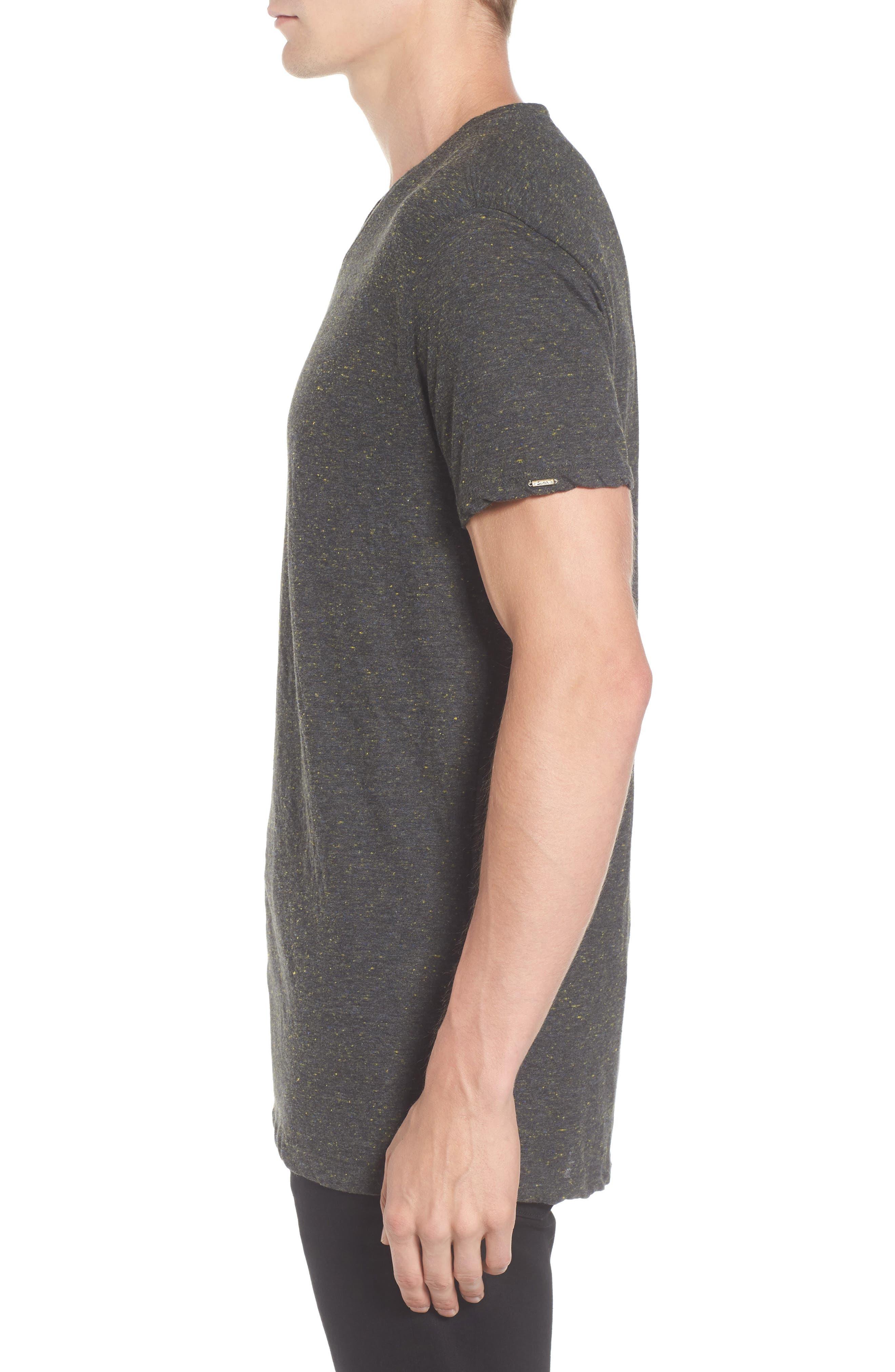 Mélange Jersey T-Shirt,                             Alternate thumbnail 3, color,                             030