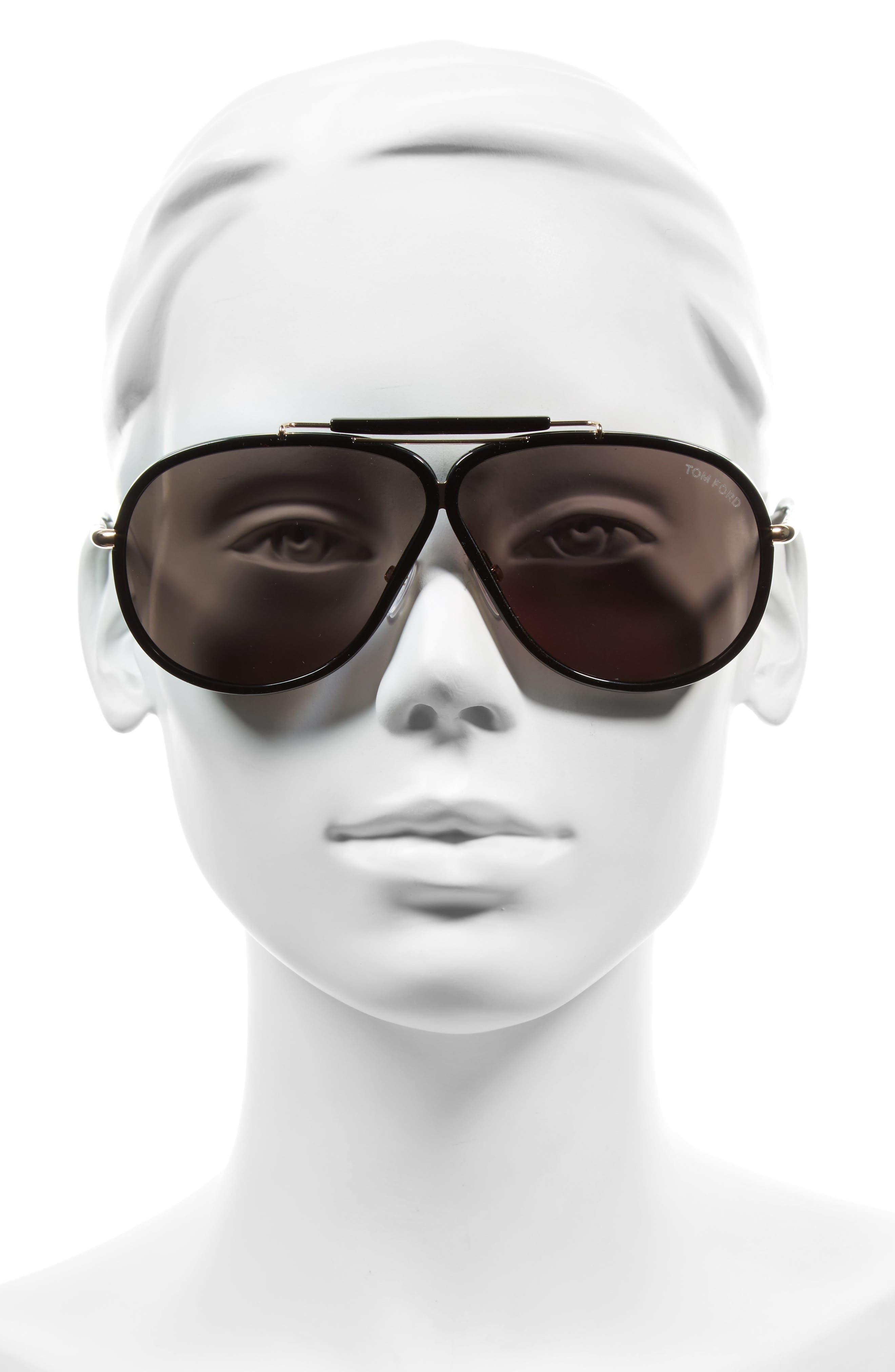 Cedric 65mm Aviator Sunglasses,                             Alternate thumbnail 2, color,                             710
