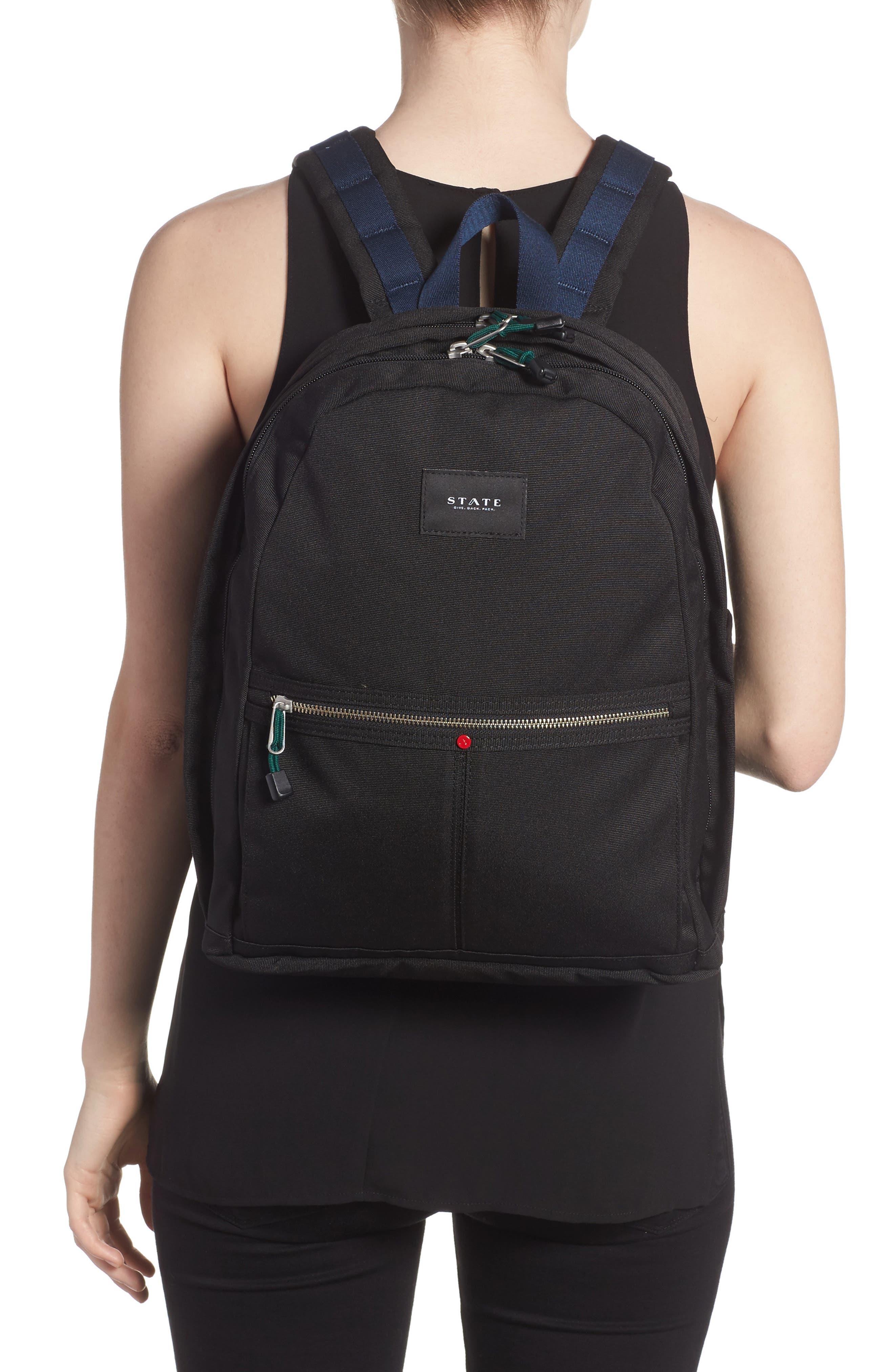 STATE BAGS,                             Kent Backpack,                             Alternate thumbnail 2, color,                             BLACK