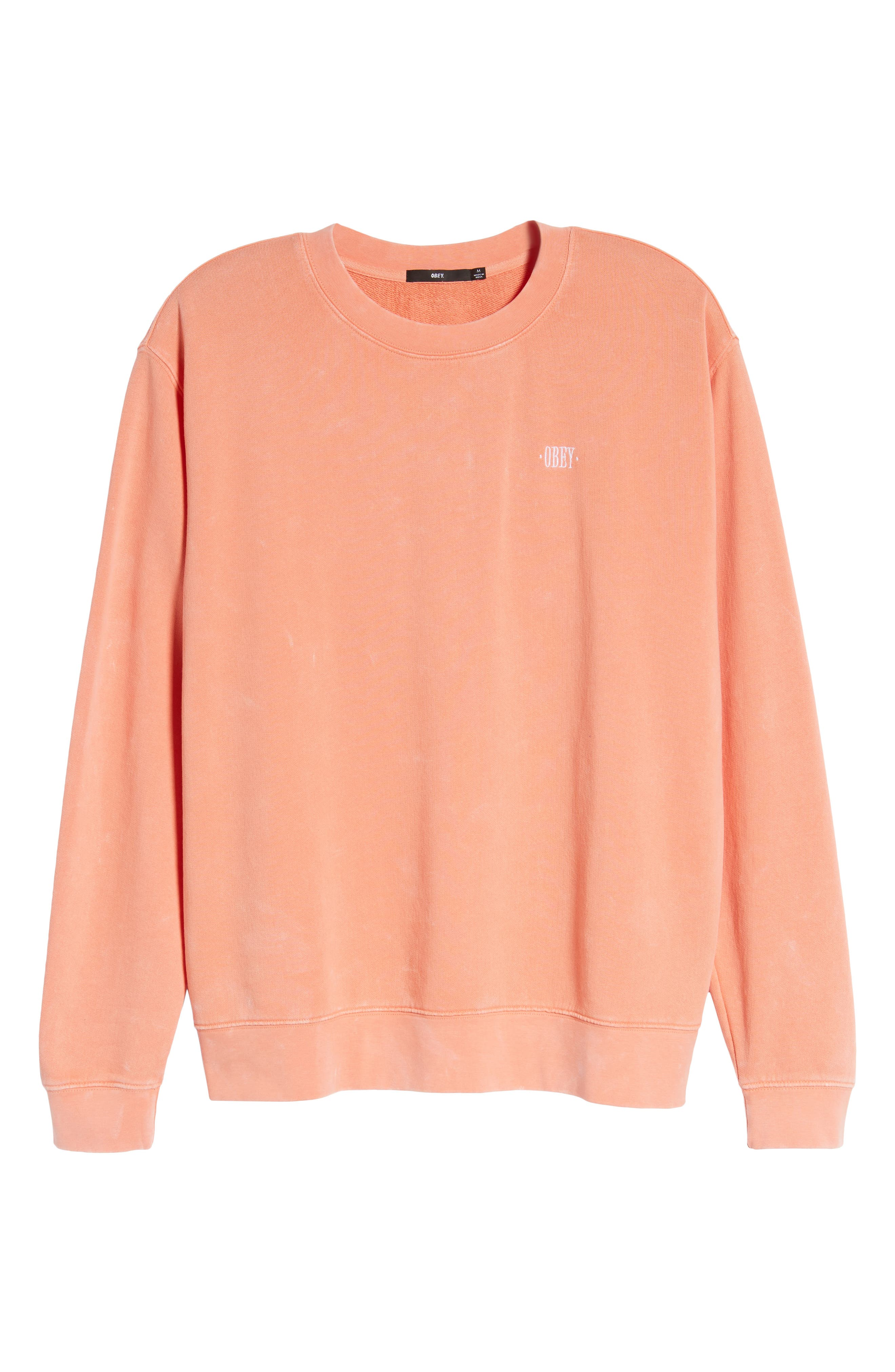 Faded Pigment-Dyed Sweatshirt,                             Alternate thumbnail 6, color,