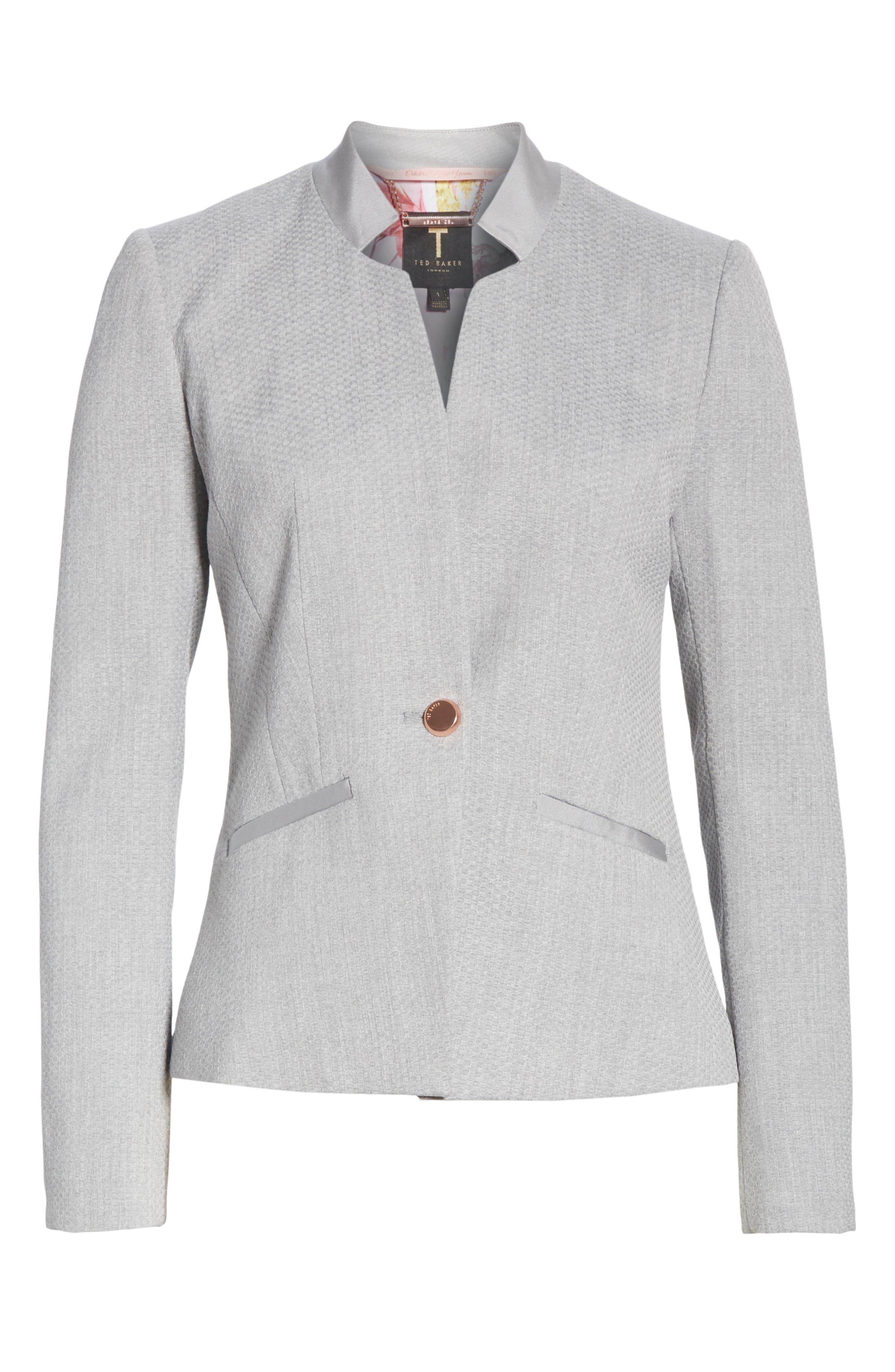 Ted Working Title Daizi Suit Jacket,                             Alternate thumbnail 5, color,                             GREY