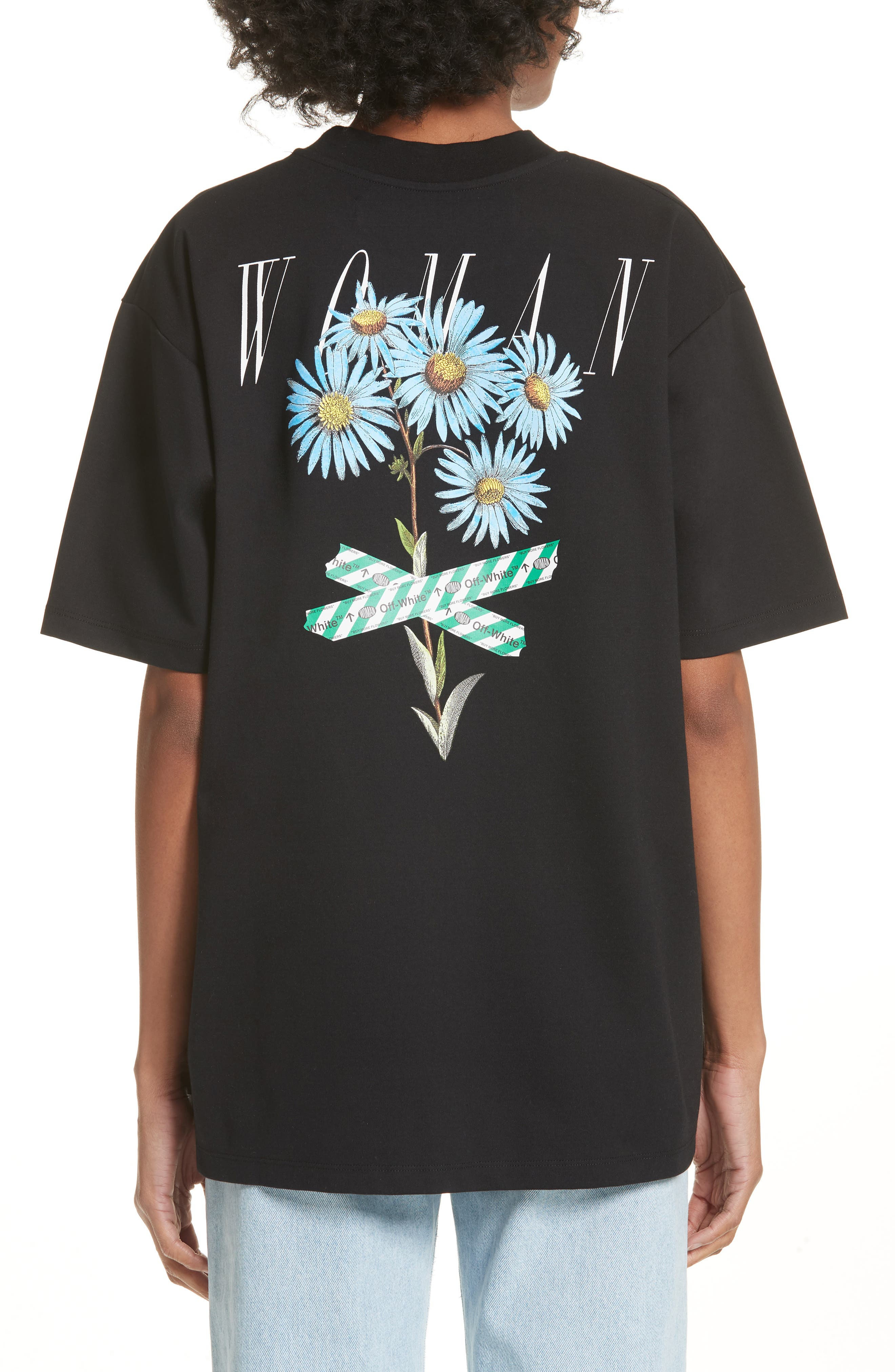 Flower Shop Tee,                             Alternate thumbnail 2, color,                             001