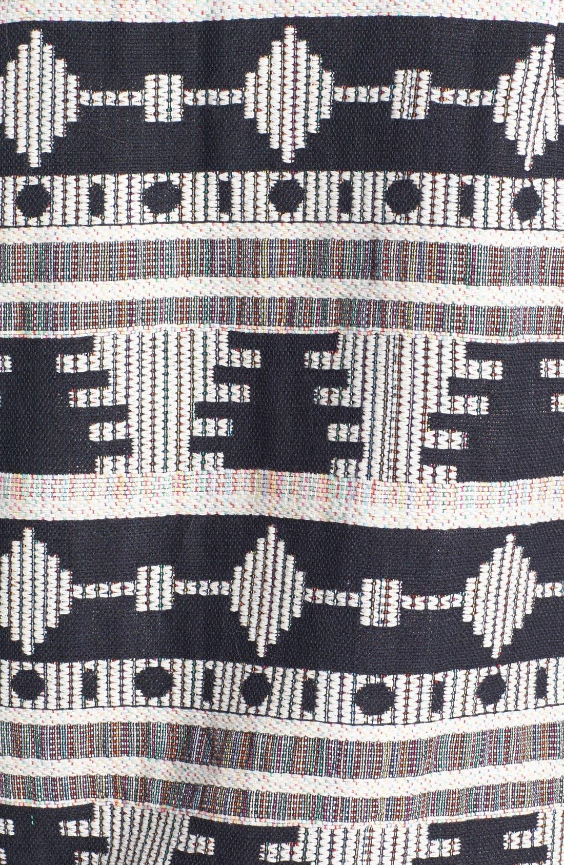 'Tribal' Pattern Jacket,                             Alternate thumbnail 5, color,