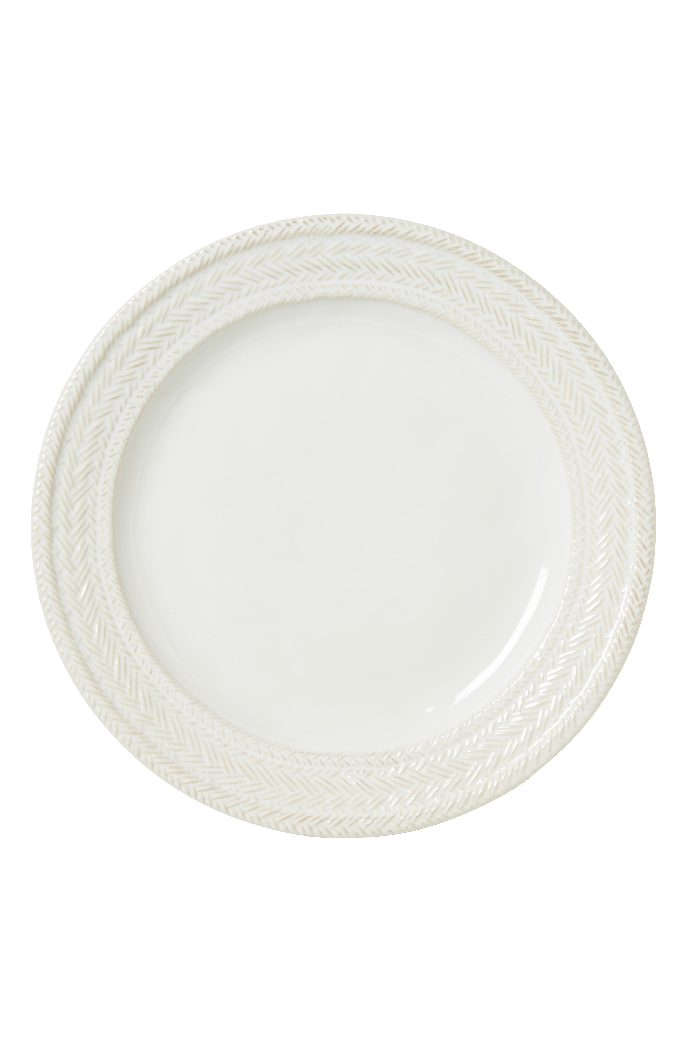 Le Panier Dinner Plate,                             Alternate thumbnail 2, color,                             WHITEWASH