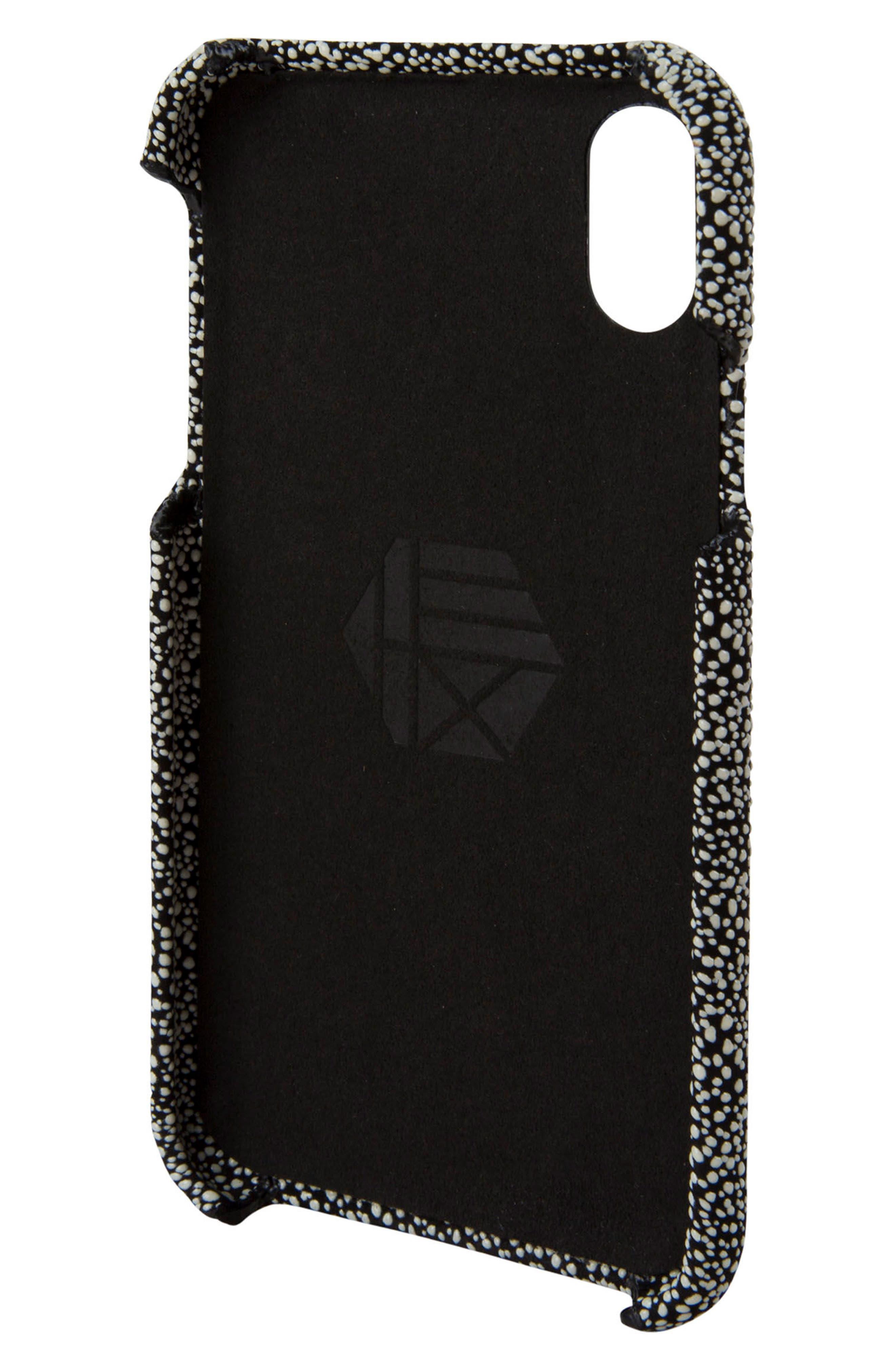 Solo iPhone X Wallet Case,                             Alternate thumbnail 4, color,                             004