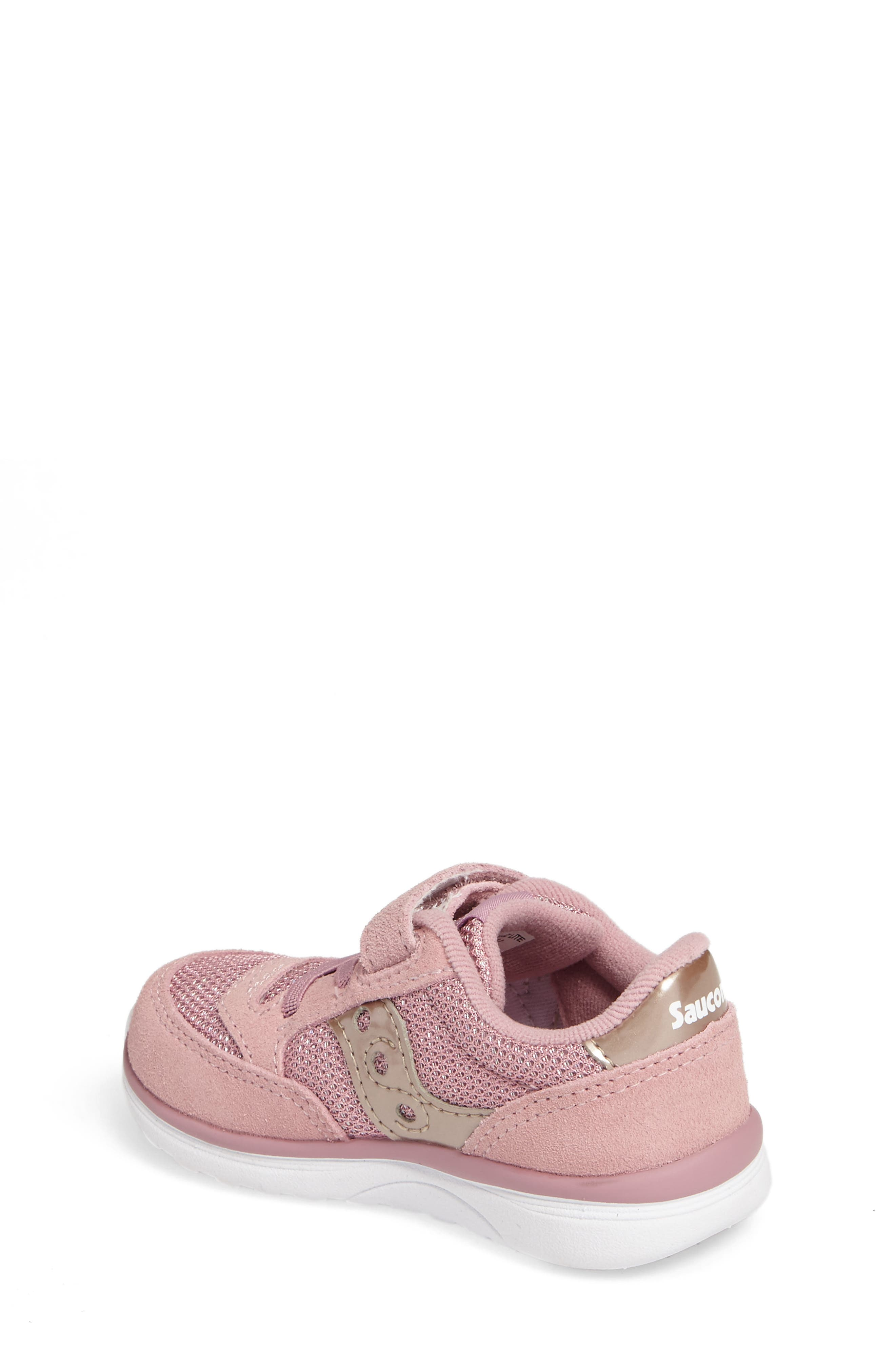 Jazz Lite Sneaker,                             Alternate thumbnail 2, color,                             BLUSH METALLIC