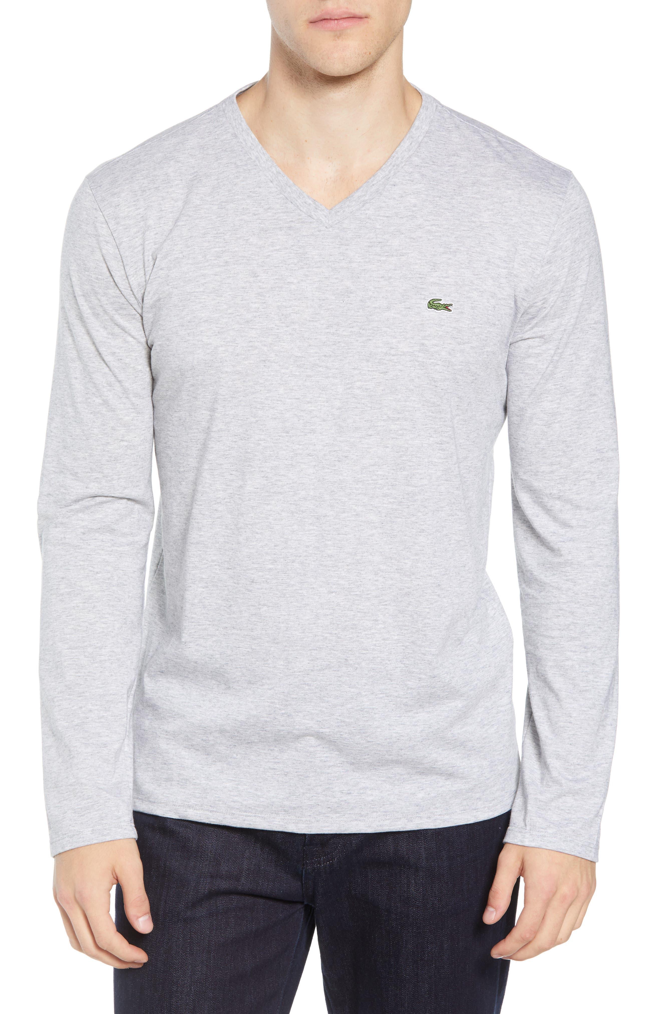Long Sleeve T-Shirt,                             Main thumbnail 1, color,                             SILVER CHINE