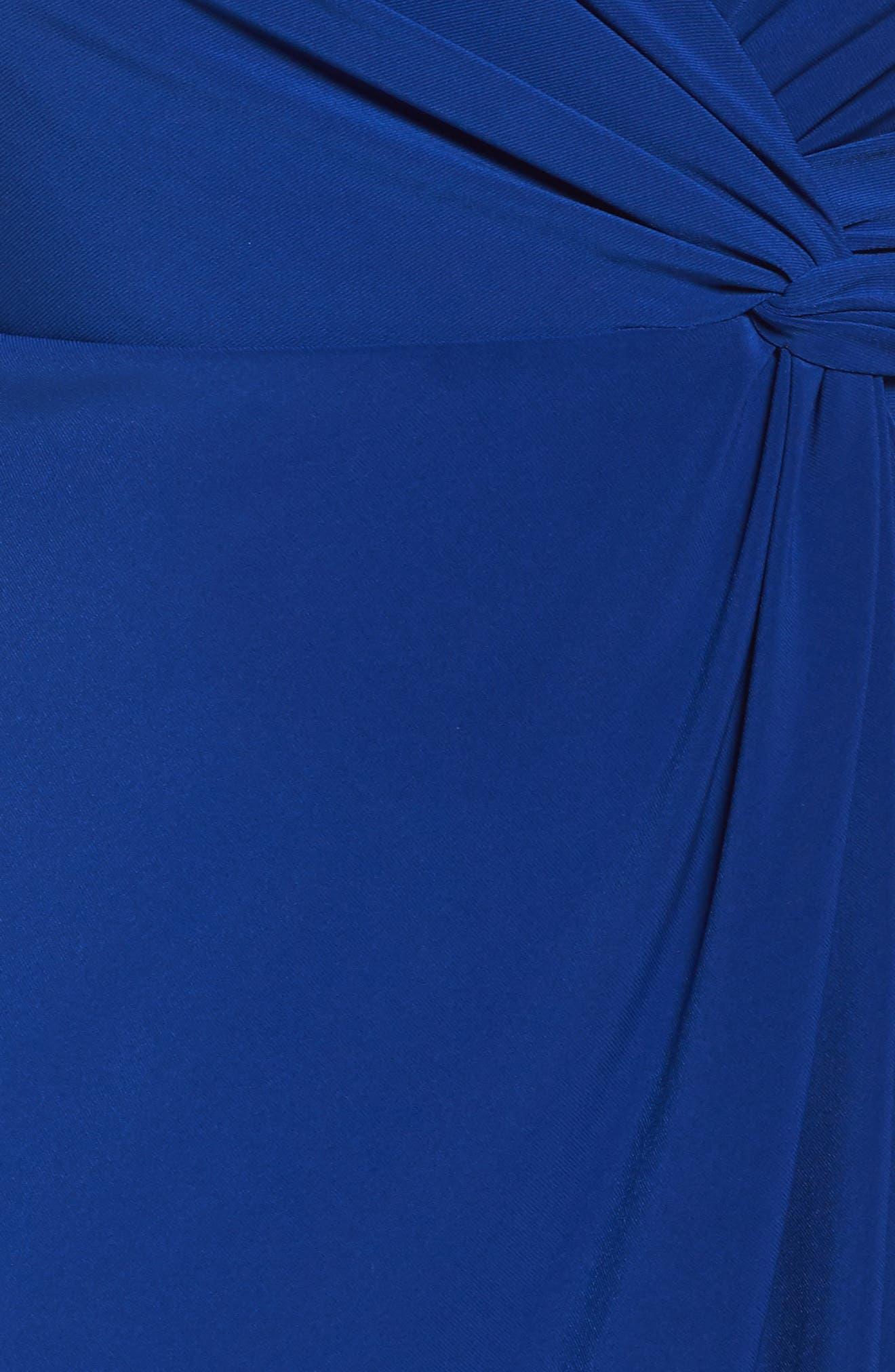 Embellished Knot Front Dress,                             Alternate thumbnail 5, color,                             461