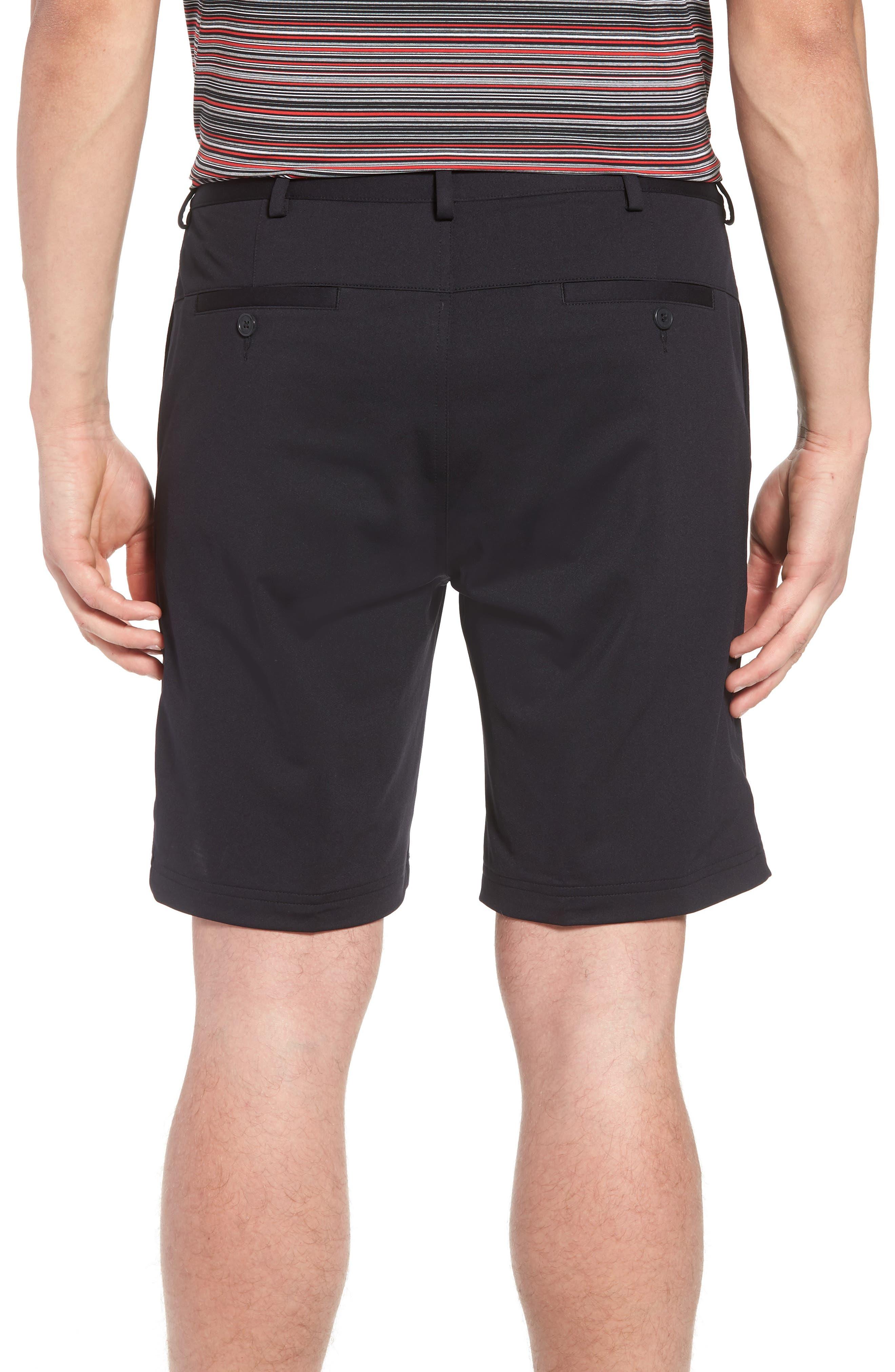BOBBY JONES,                             Trim Fit Tech Chino Shorts,                             Alternate thumbnail 2, color,                             001