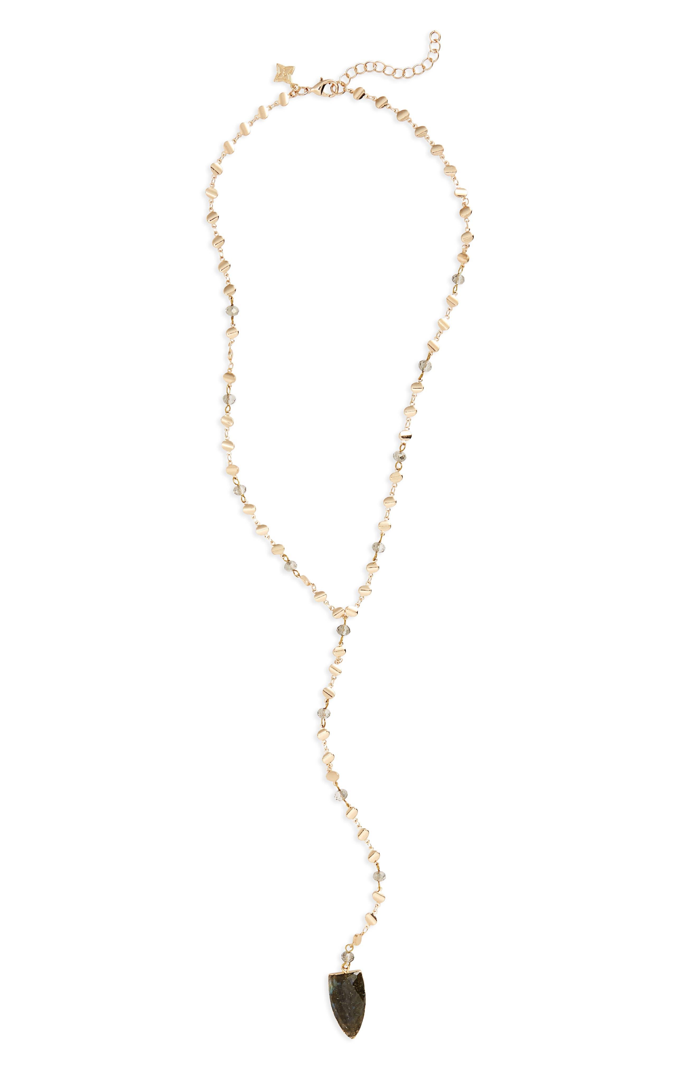Y Necklace,                         Main,                         color,
